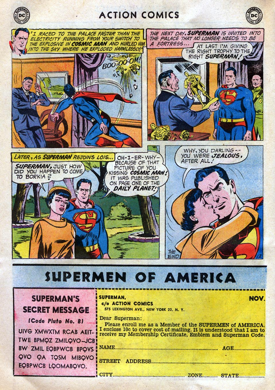 Read online Action Comics (1938) comic -  Issue #258 - 14