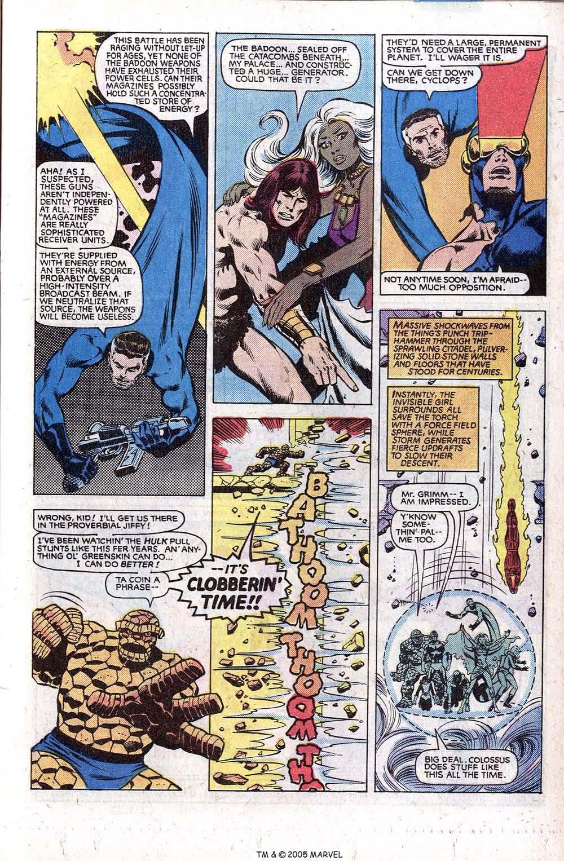 Read online Uncanny X-Men (1963) comic -  Issue # _Annual 5 - 41