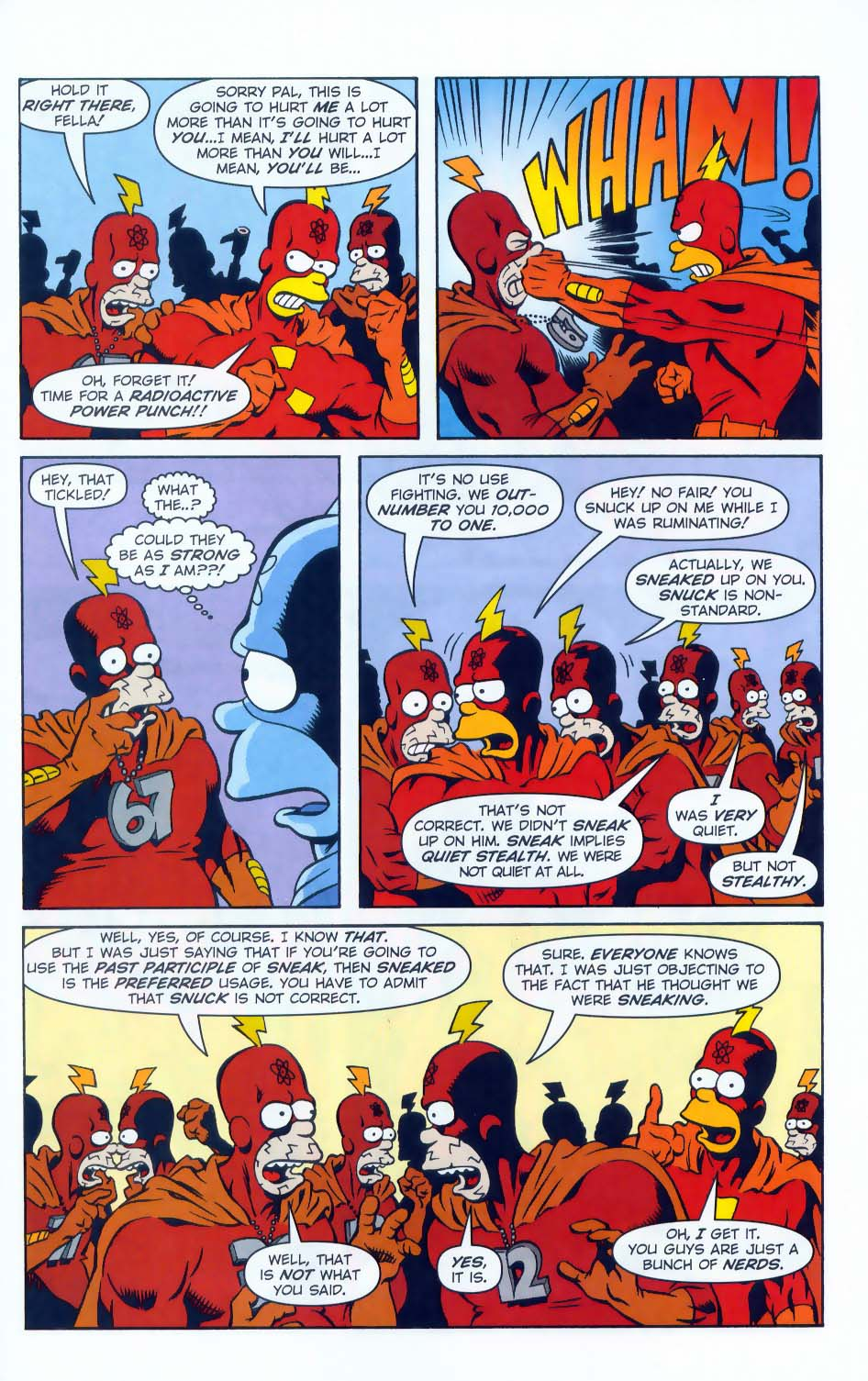 Read online Simpsons Comics comic -  Issue #50 - 60
