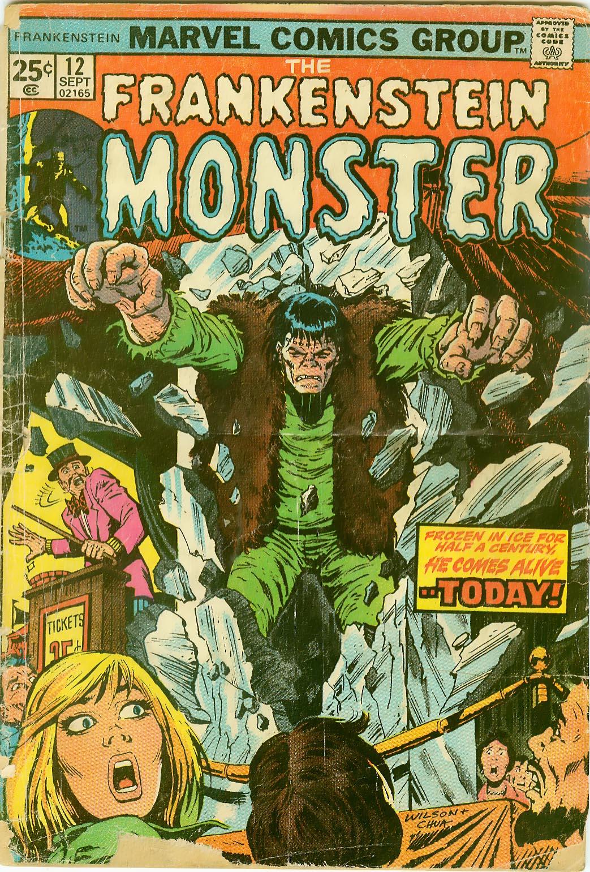 Frankenstein (1973) issue 12 - Page 1