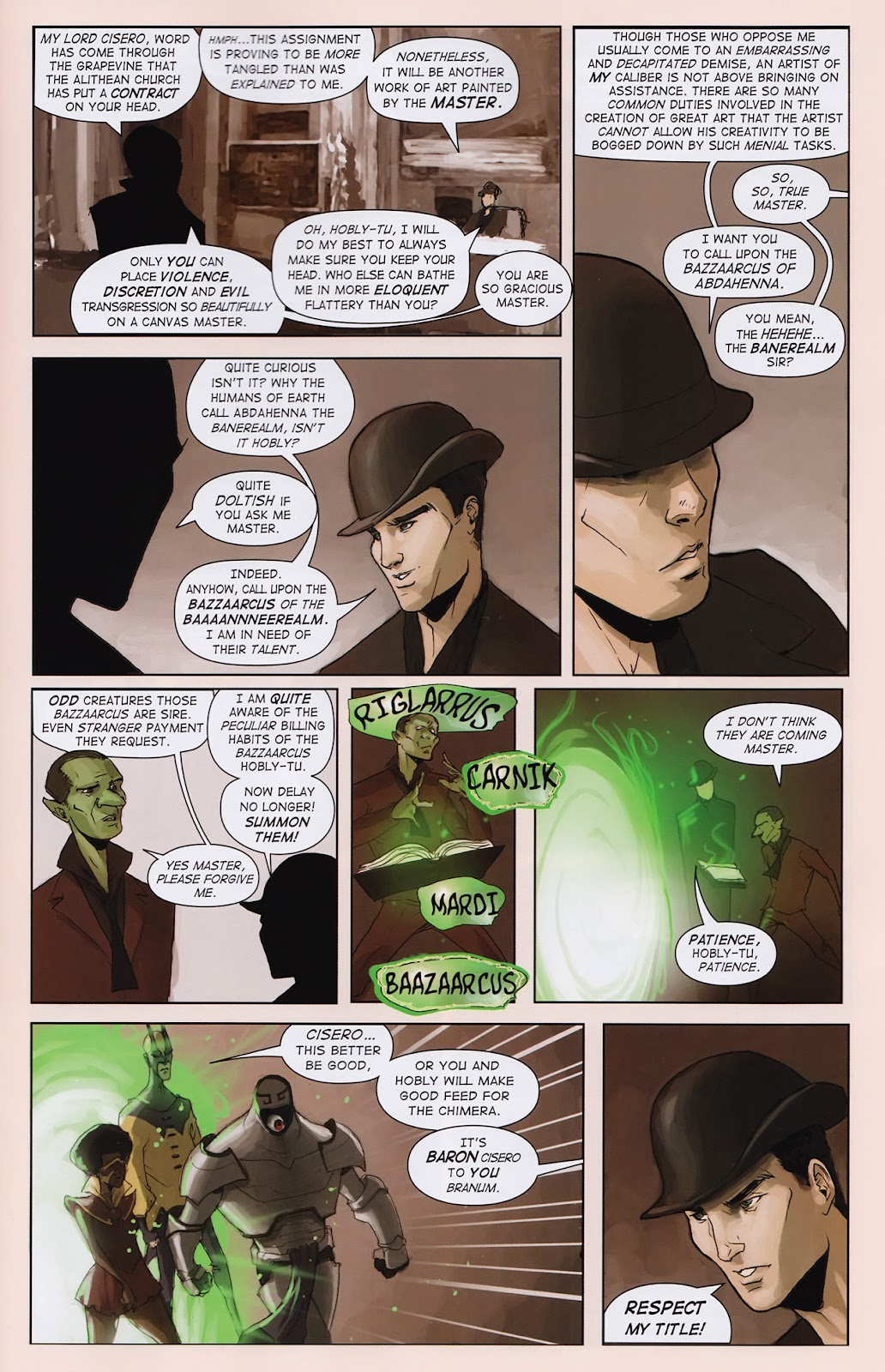 Read online Vescell comic -  Issue #2 - 27