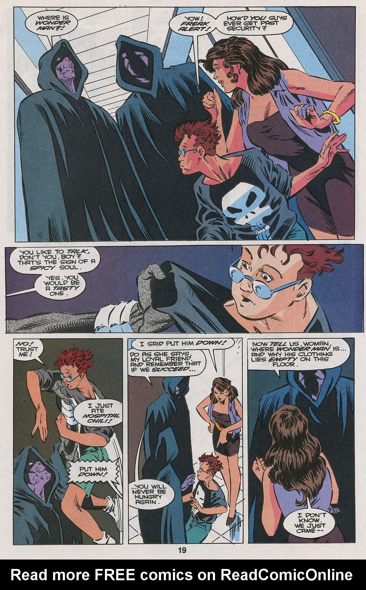 Read online Wonder Man (1991) comic -  Issue #22 - 14