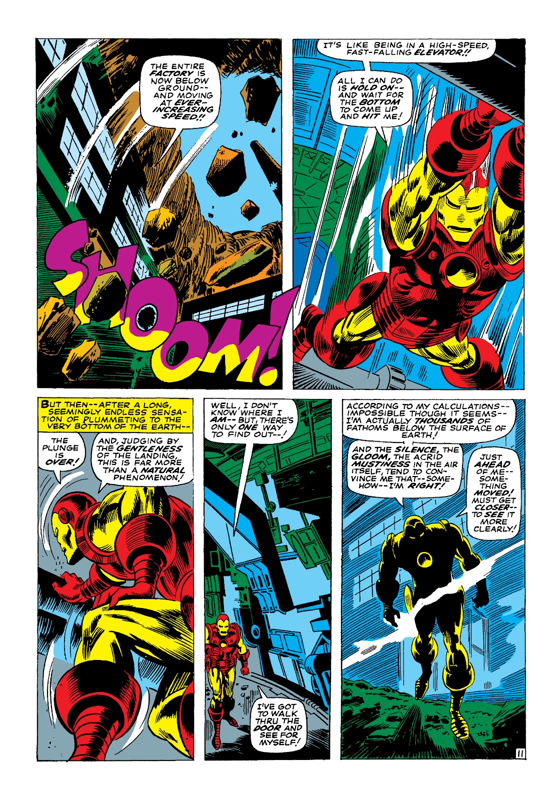 Read online Marvel Masterworks: The Invincible Iron Man comic -  Issue # TPB 4 (Part 1) - 56