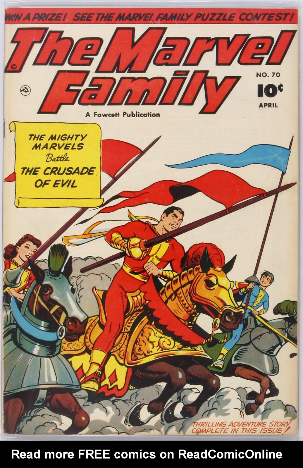 The Marvel Family 70 Page 1