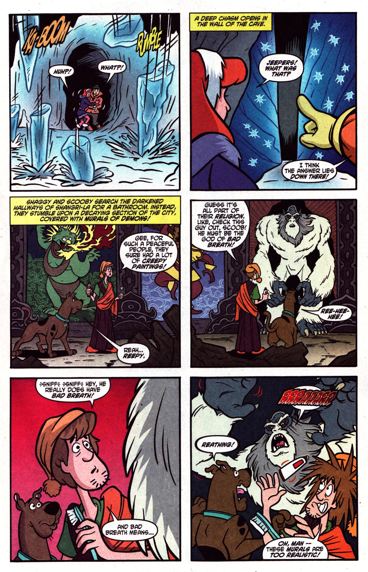 Read online Scooby-Doo (1997) comic -  Issue #124 - 16