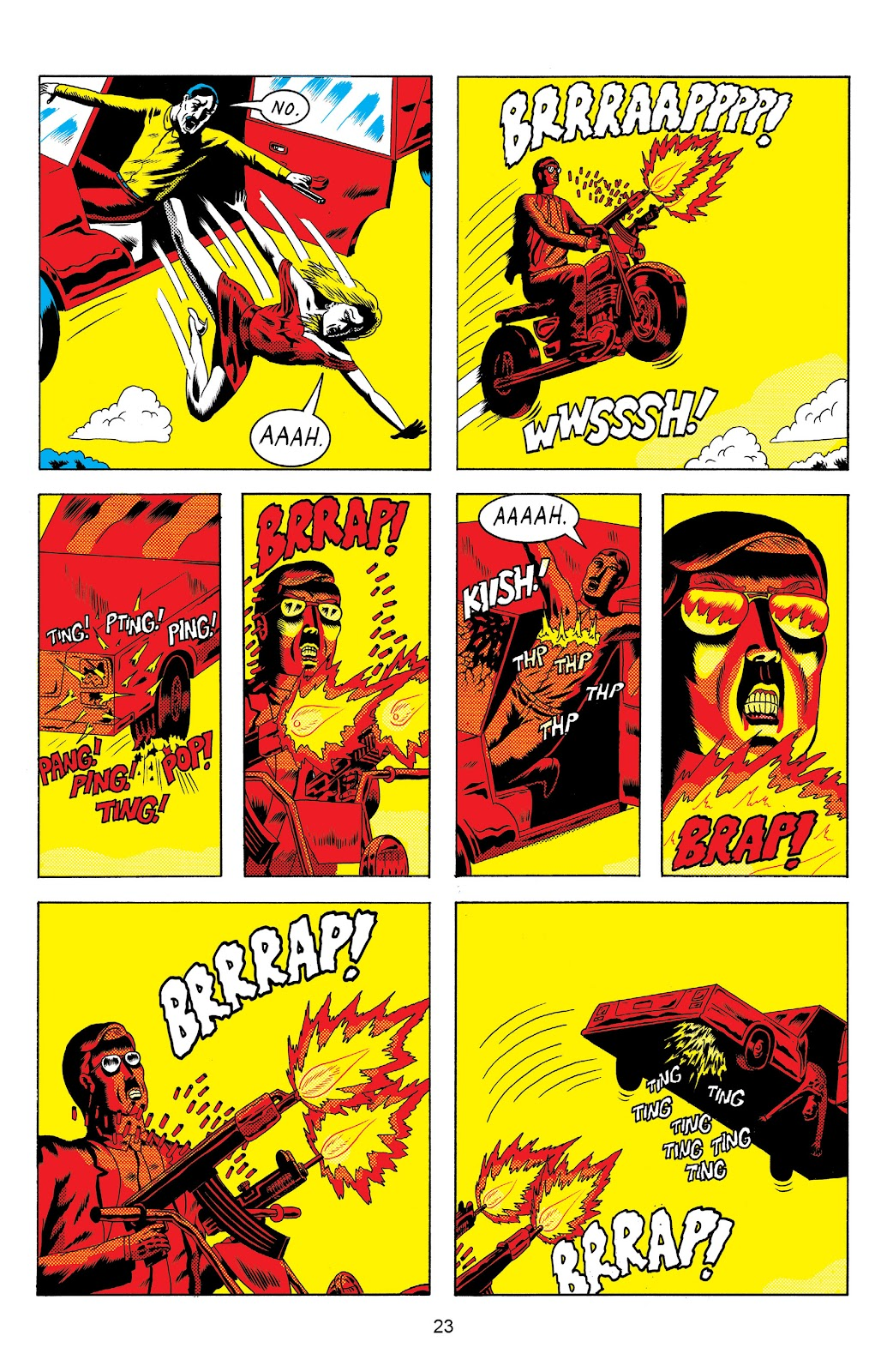 Read online Terror Assaulter: O.M.W.O.T (One Man War On Terror) comic -  Issue # TPB - 24