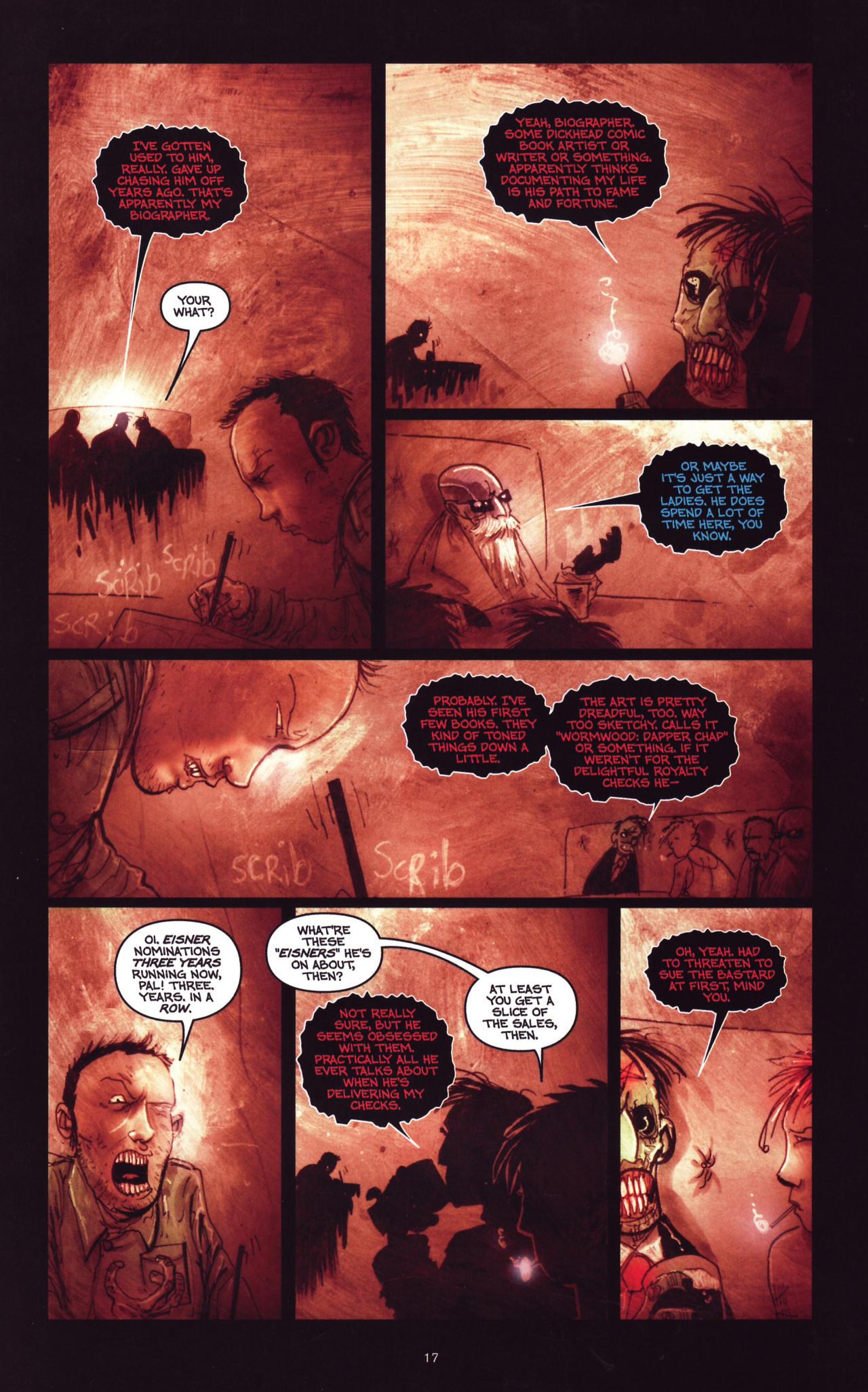 Read online Wormwood: Gentleman Corpse comic -  Issue #8 - 18