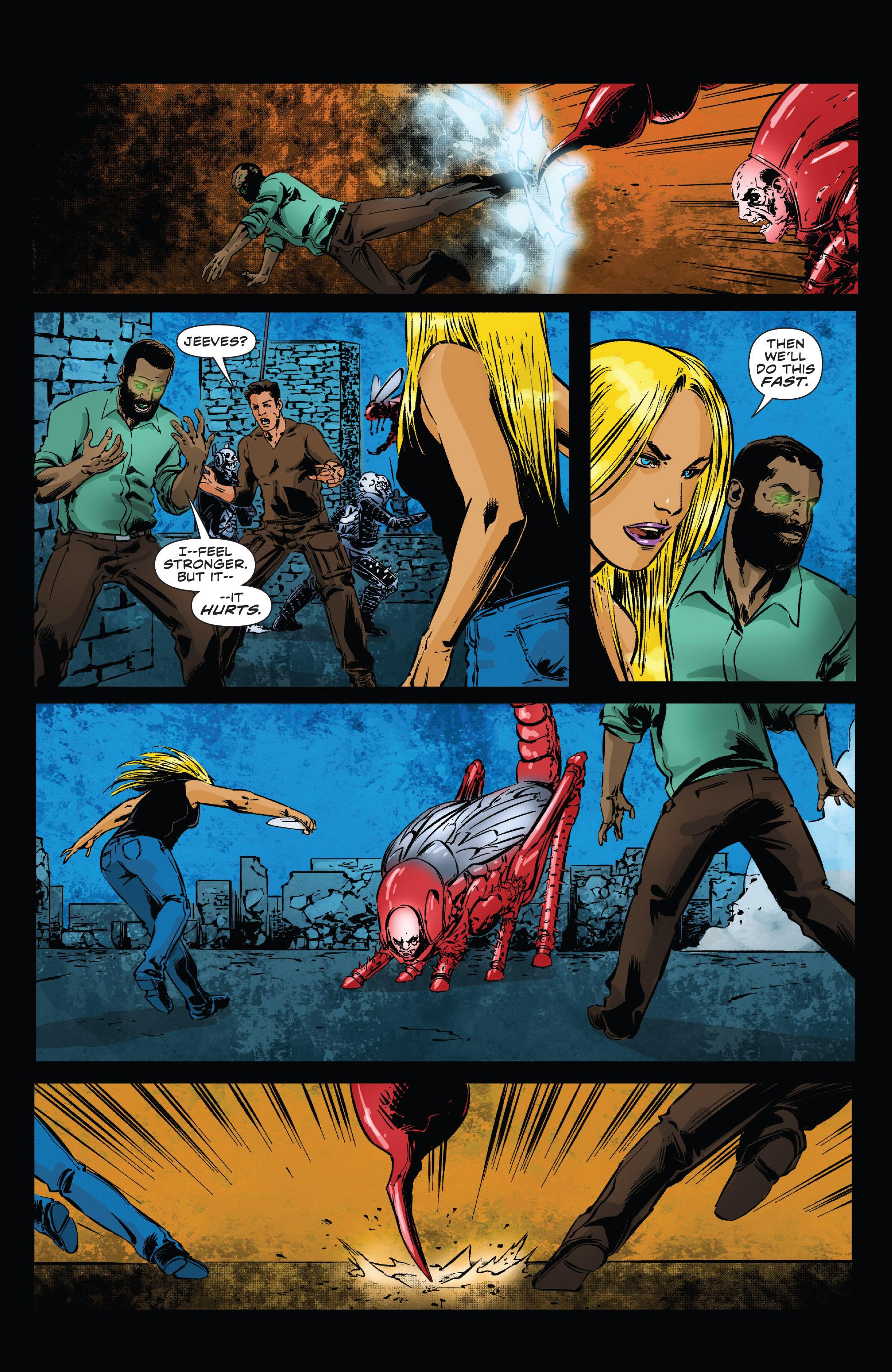 Read online Clive Barker's Hellraiser: The Dark Watch comic -  Issue # TPB 3 - 52
