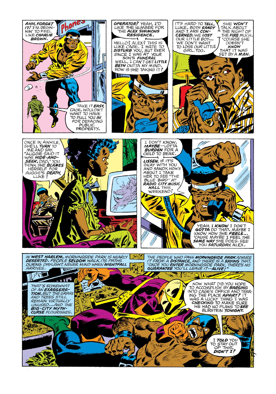 Read online Marvel Masterworks: Luke Cage, Power Man comic -  Issue # TPB 3 (Part 1) - 53