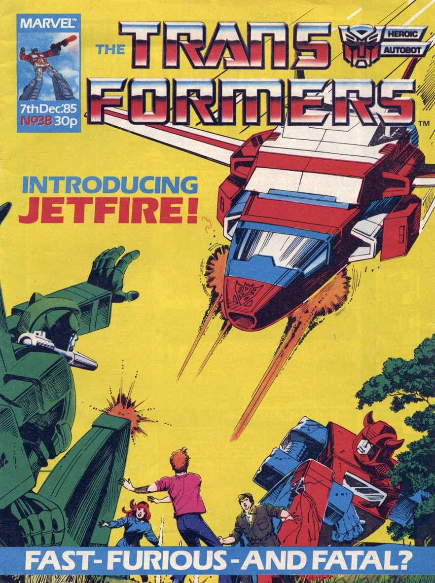 The Transformers (UK) 38 Page 1