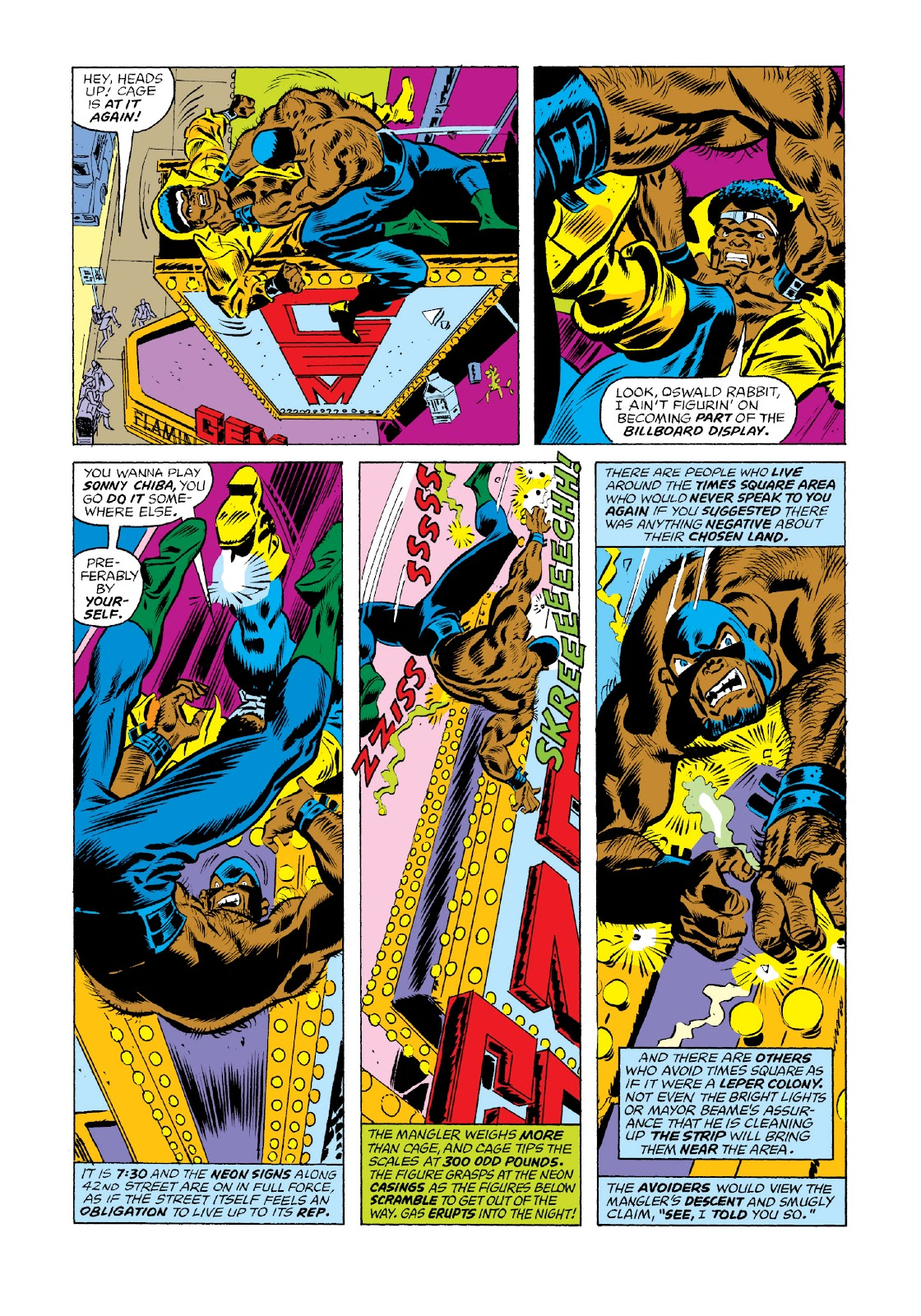 Read online Marvel Masterworks: Luke Cage, Power Man comic -  Issue # TPB 3 (Part 1) - 48