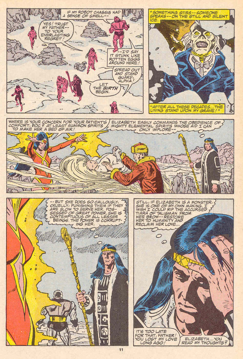Read online Alpha Flight (1983) comic -  Issue #37 - 12