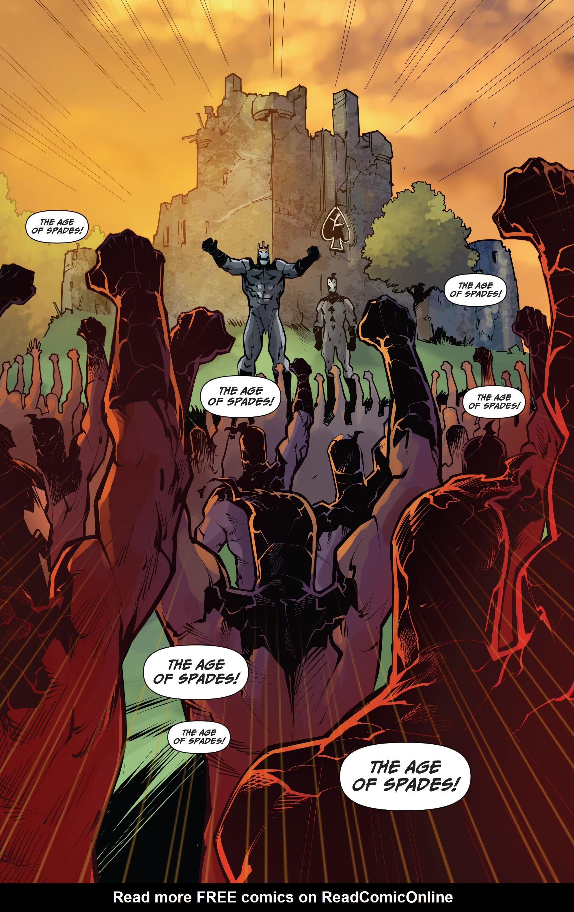 Read online Grimm Fairy Tales vs. Wonderland comic -  Issue #4 - 22