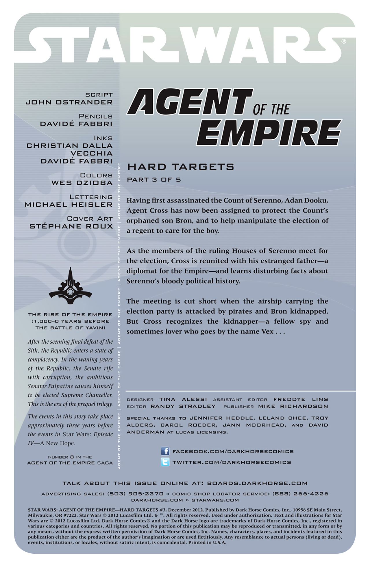 Read online Star Wars: Agent Of The Empire - Hard Targets comic -  Issue #3 - 2