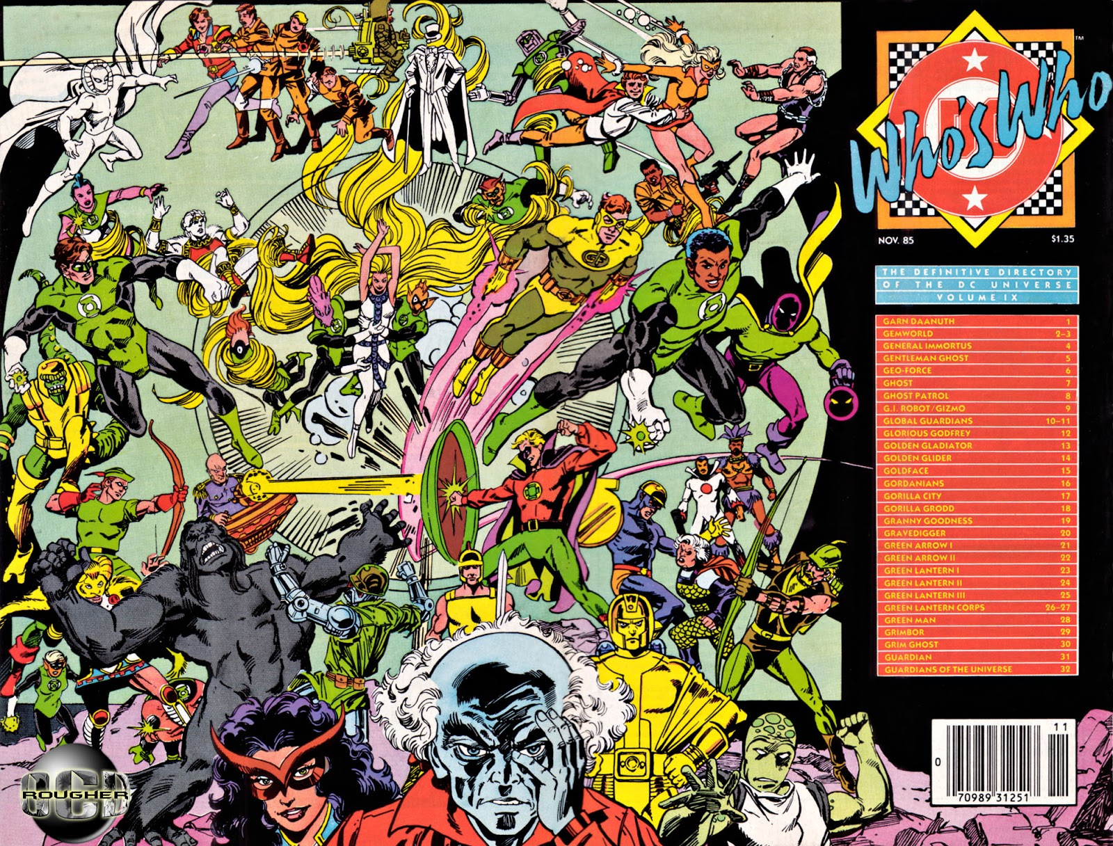 Whos Who: The Definitive Directory of the DC Universe 9 Page 1