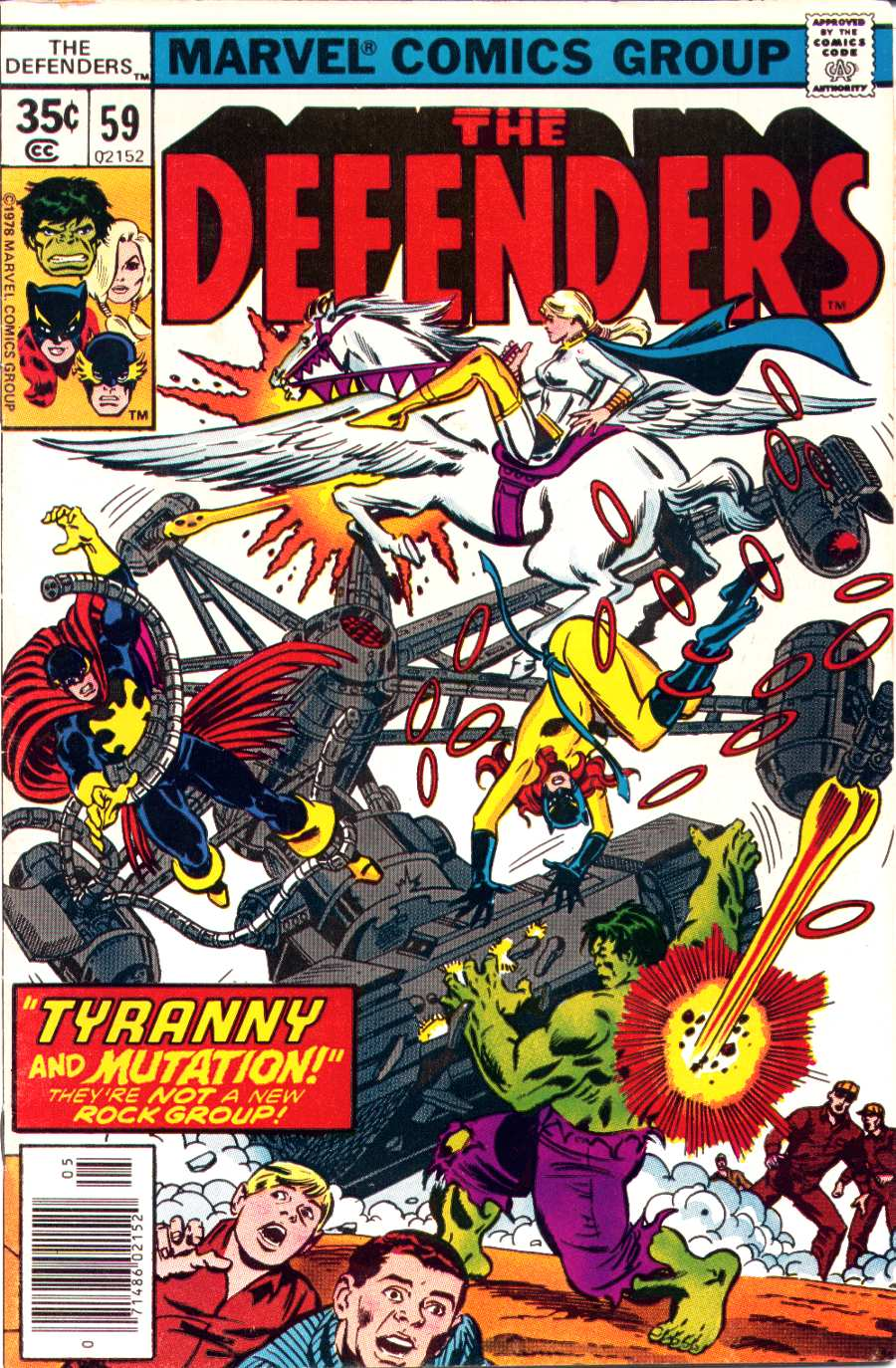 The Defenders (1972) 59 Page 1