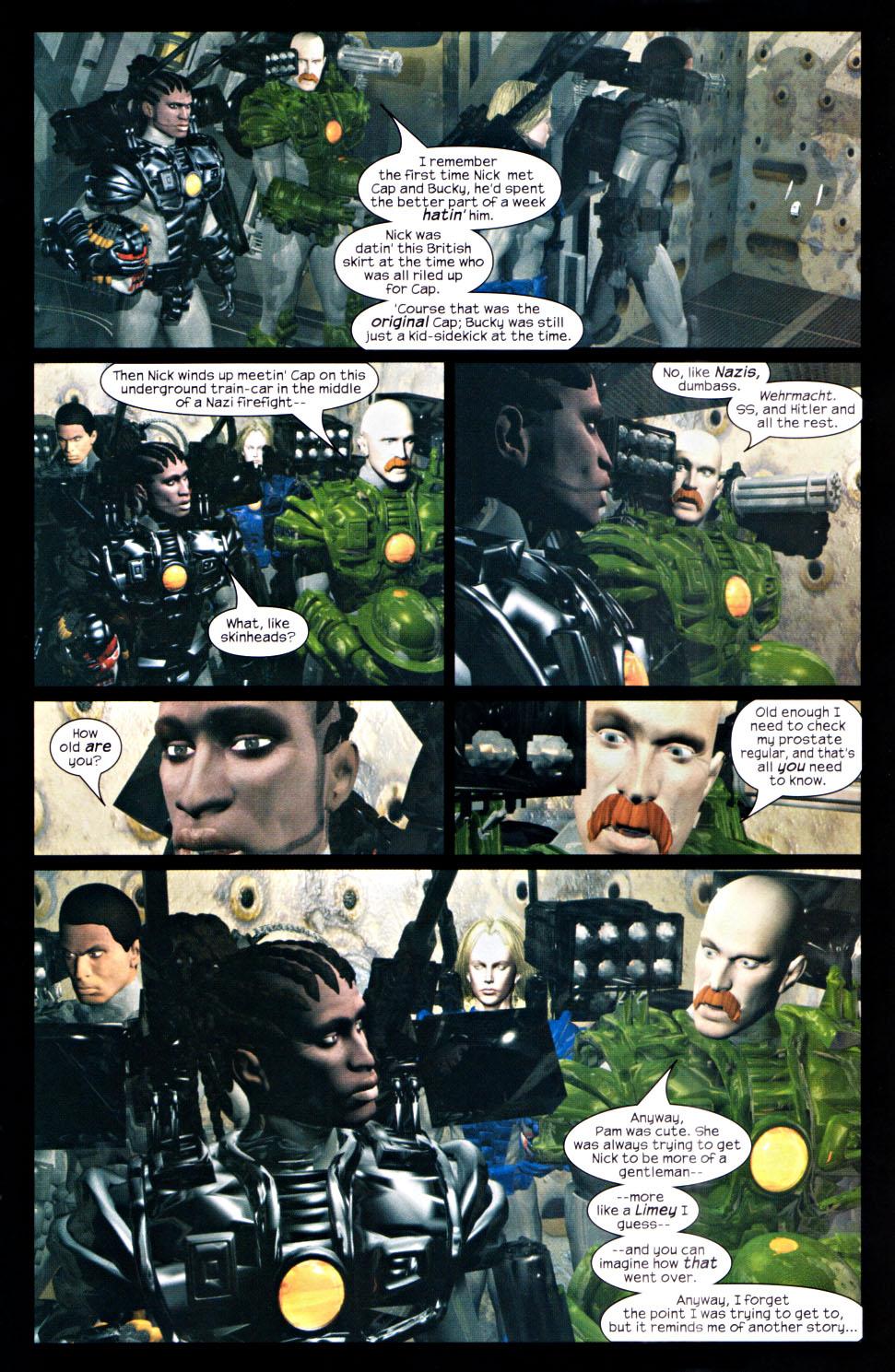 Read online U.S. War Machine 2.0 comic -  Issue #2 - 21