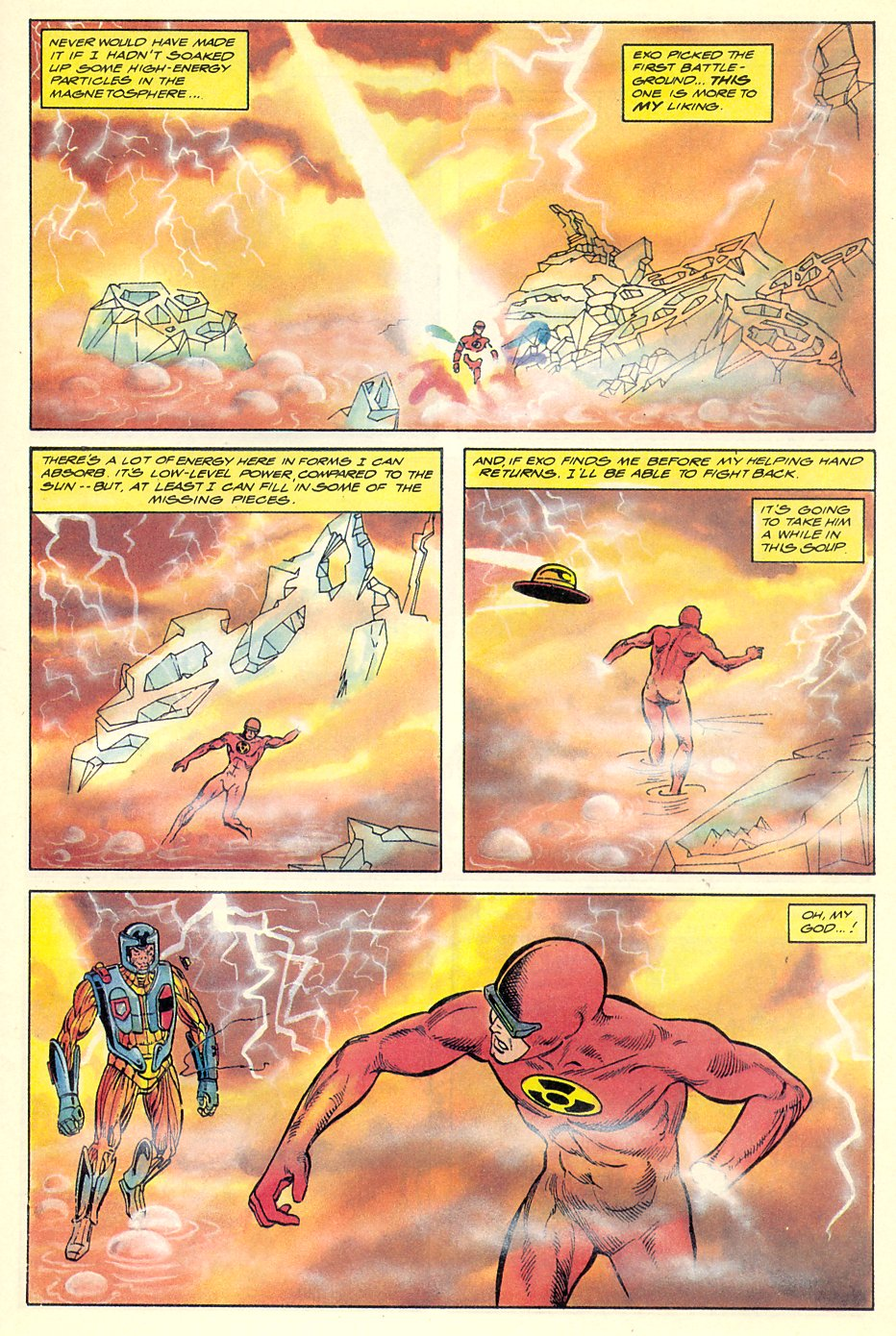 Read online Solar, Man of the Atom comic -  Issue #7 - 28
