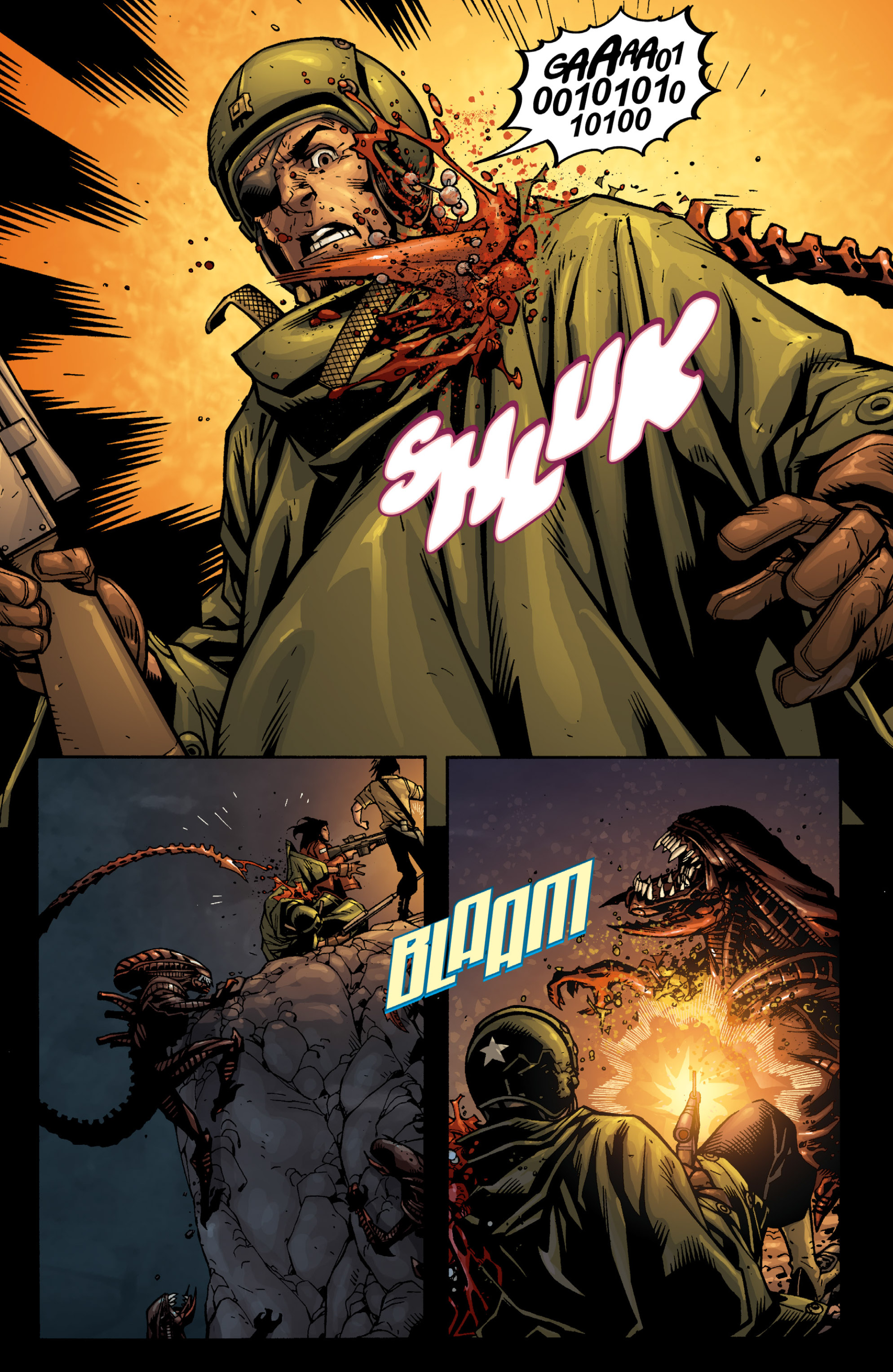 Read online Aliens (2009) comic -  Issue # TPB - 89