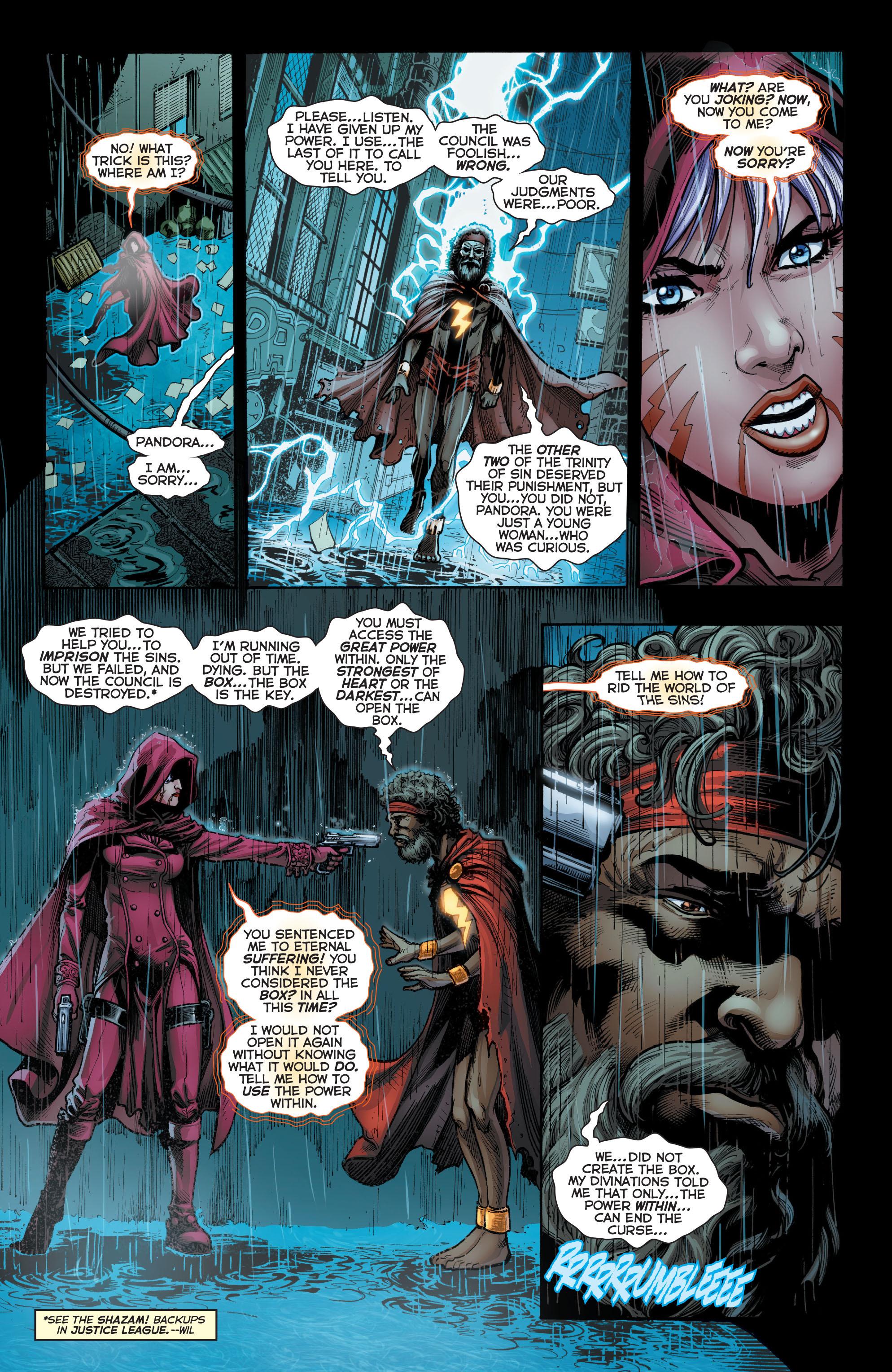 Read online Trinity of Sin: Pandora comic -  Issue #1 - 18