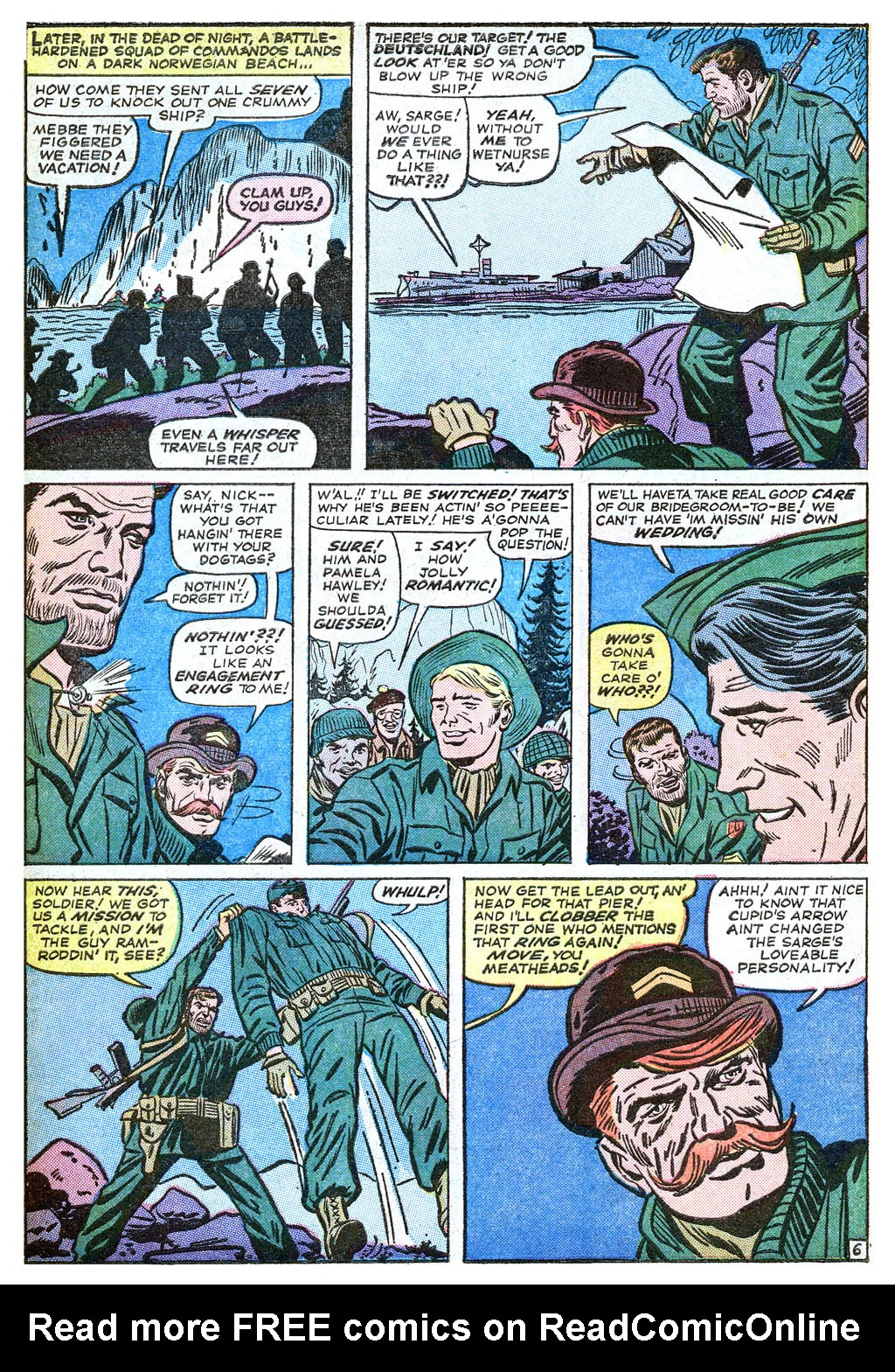 Read online Sgt. Fury comic -  Issue #18 - 10