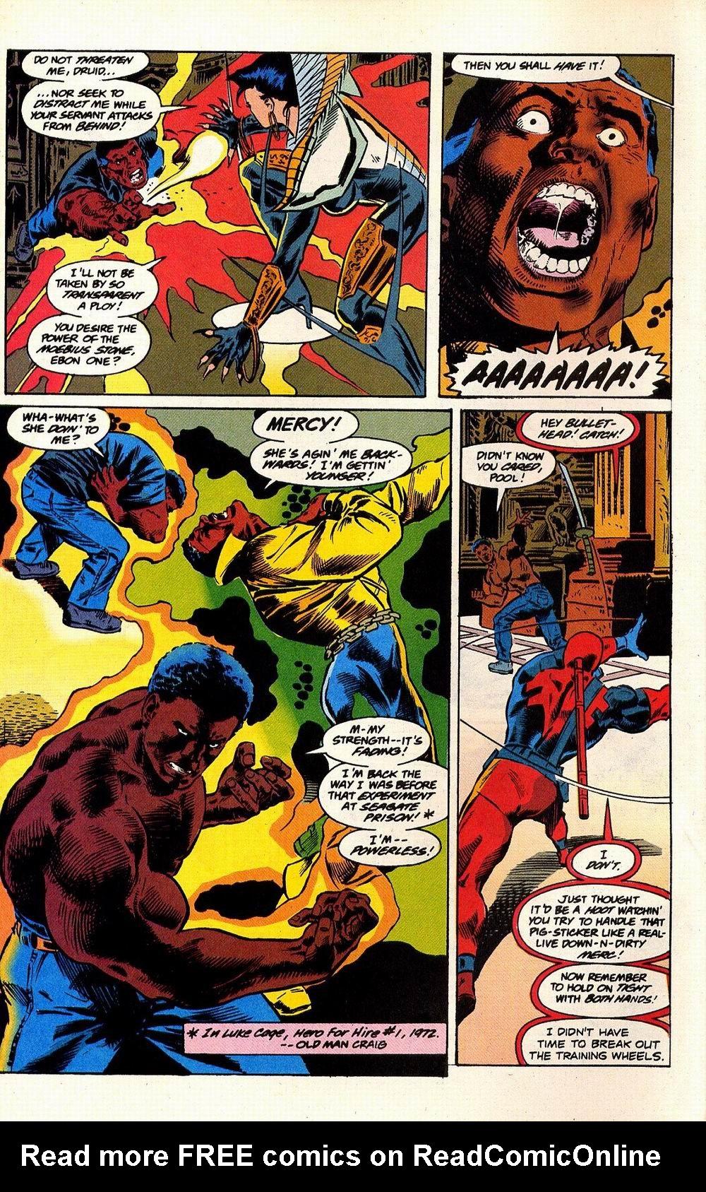 Read online Secret Defenders comic -  Issue #17 - 11