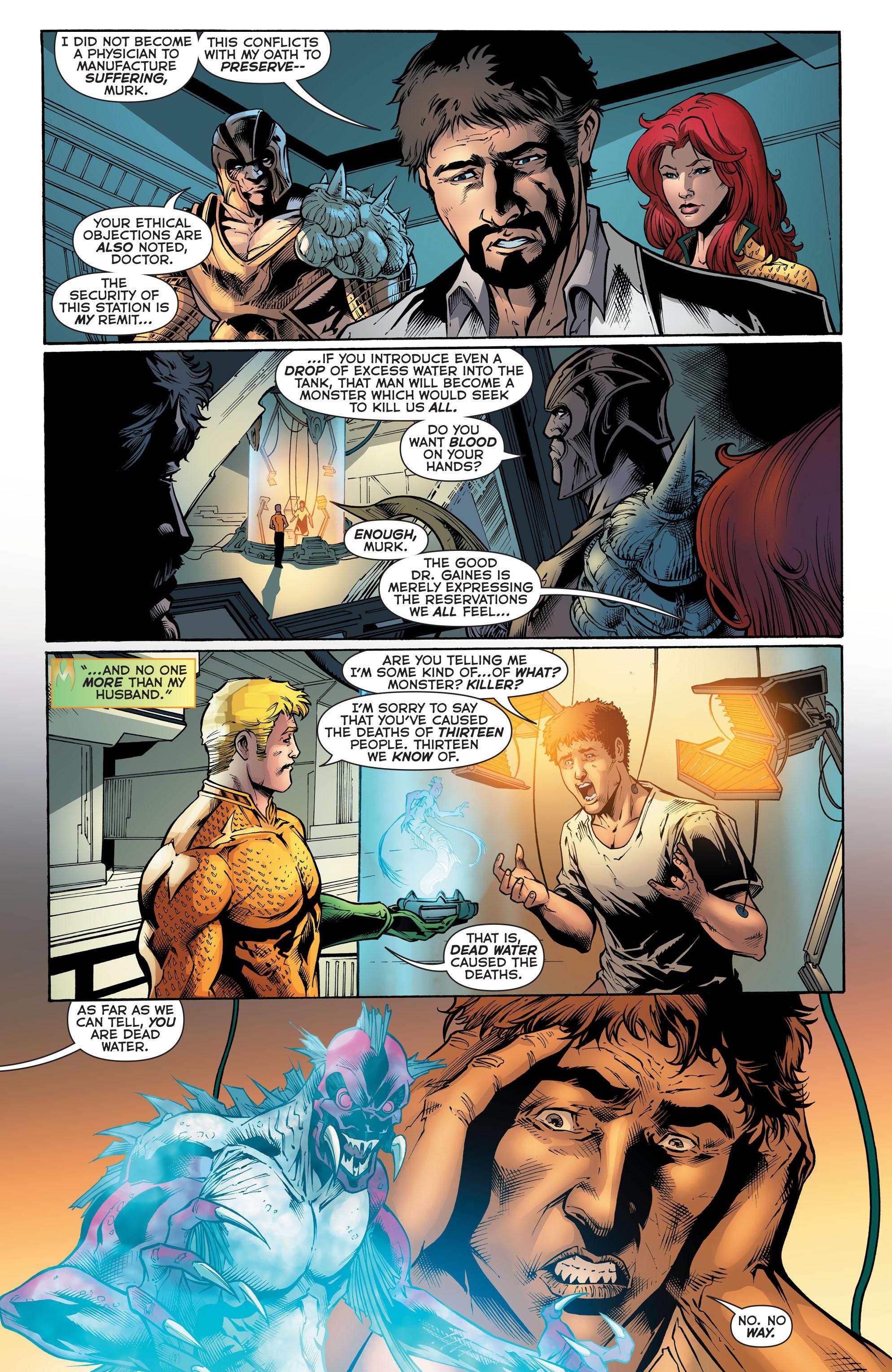 Read online Aquaman (2011) comic -  Issue #51 - 9