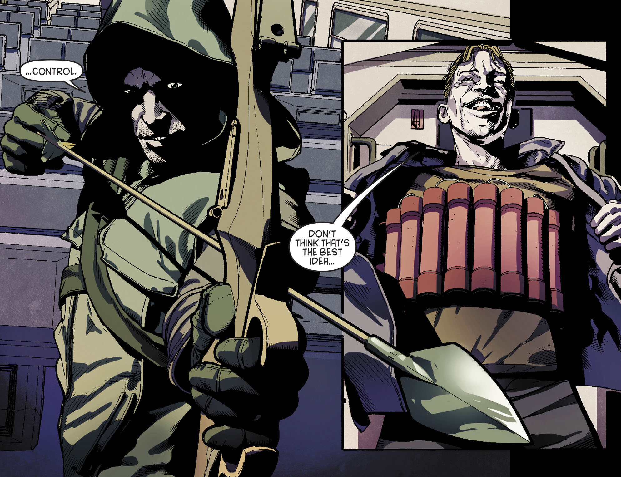 Read online Arrow [II] comic -  Issue #15 - 18