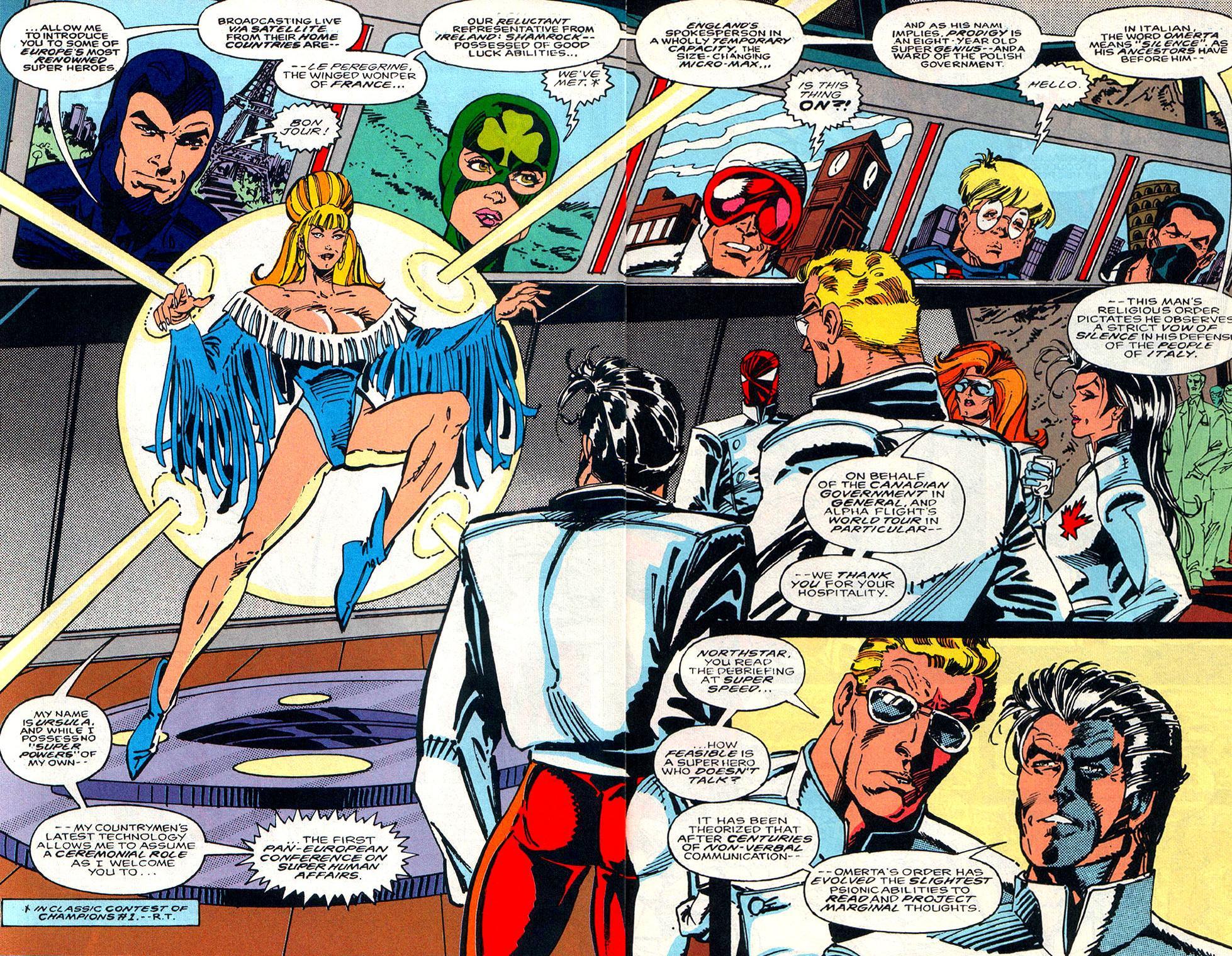 Read online Alpha Flight (1983) comic -  Issue #108 - 3
