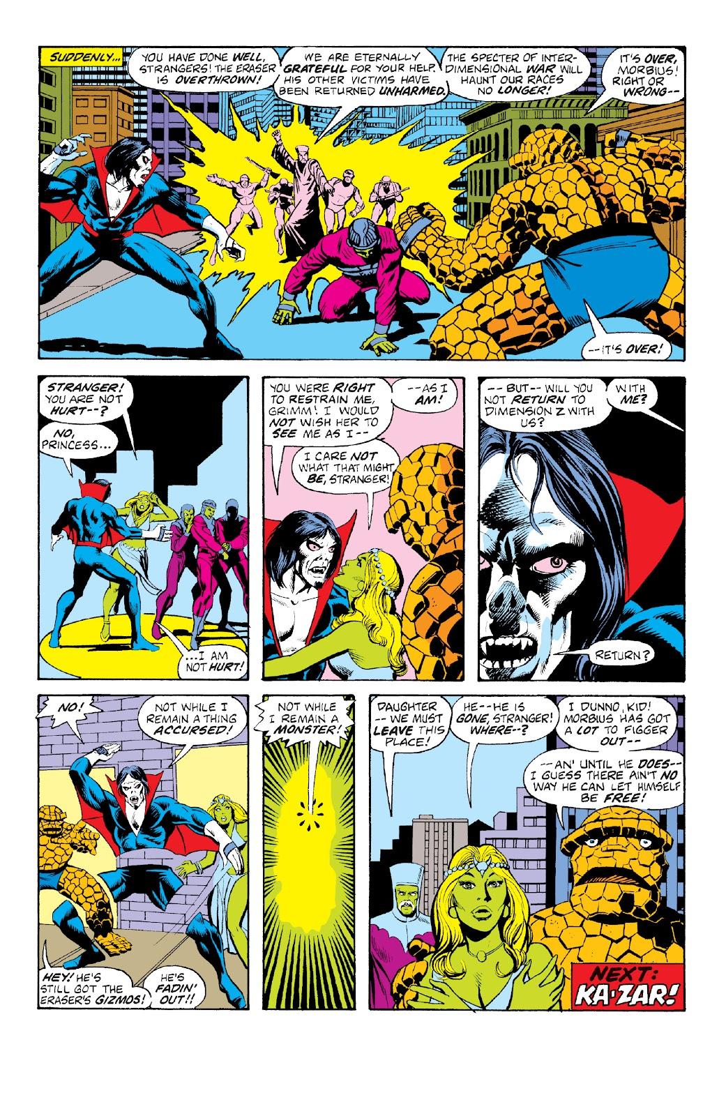 Read online Marvel Two-In-One Epic Collection: Cry Monster comic -  Issue # TPB (Part 4) - 29