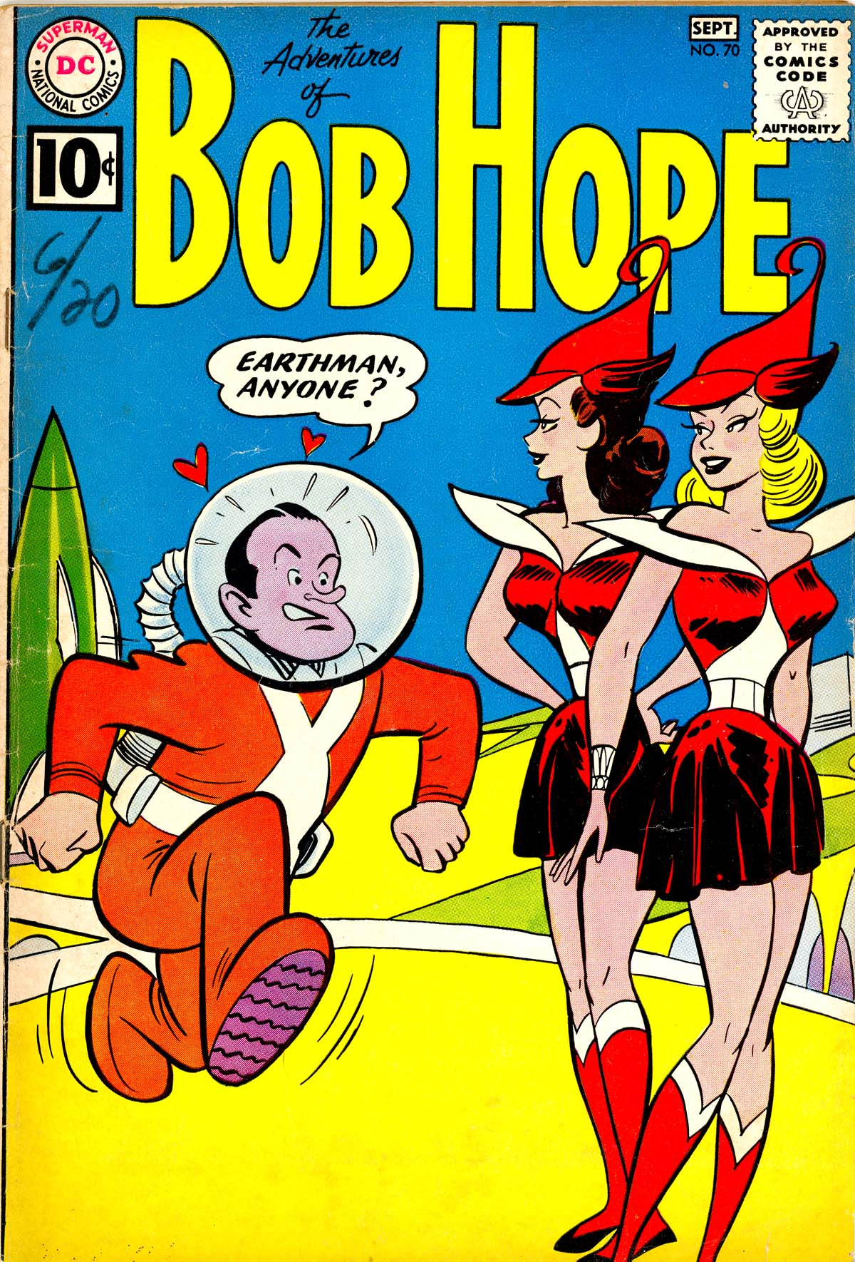 The Adventures of Bob Hope 70 Page 1