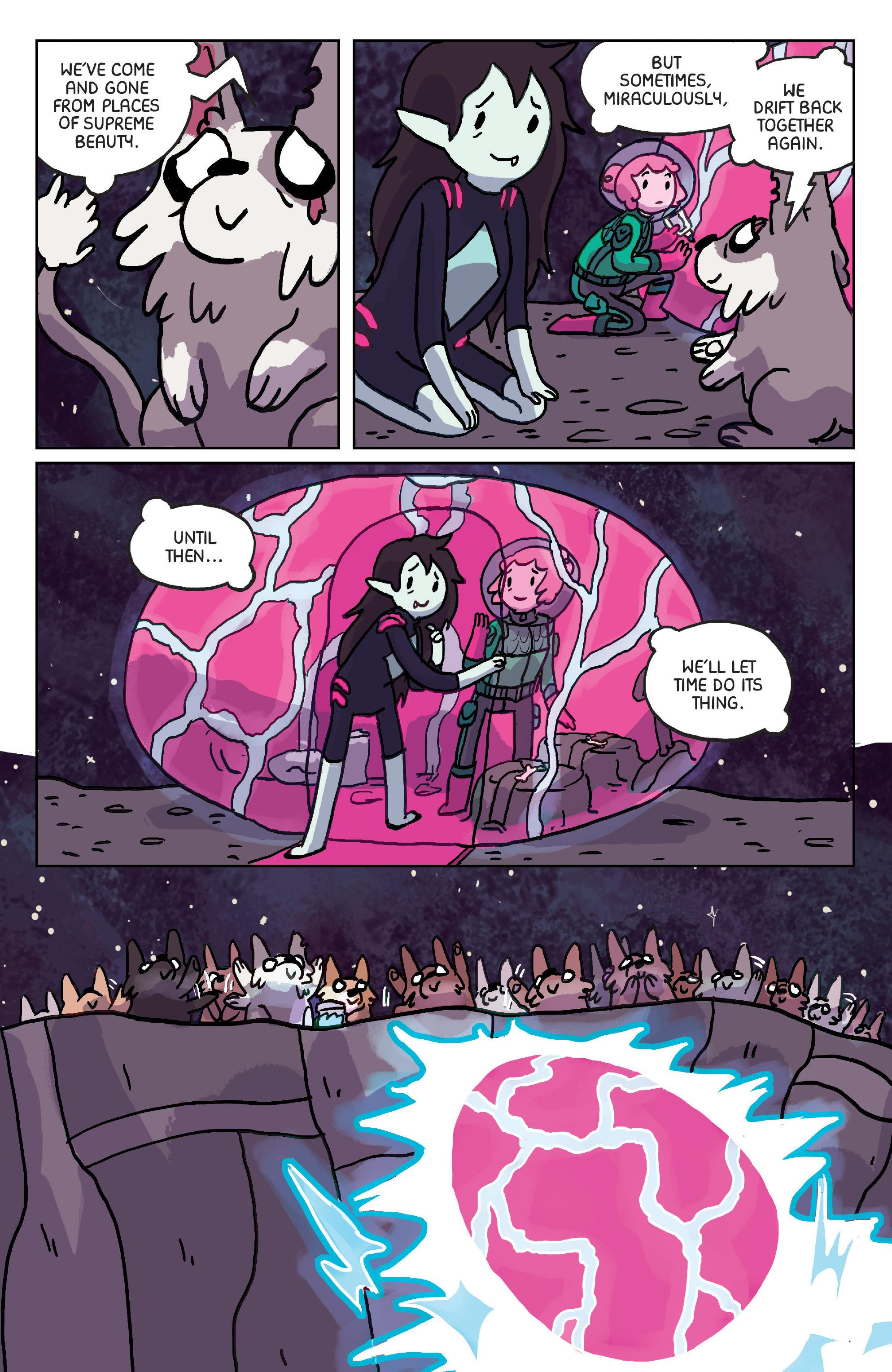 Read online Adventure Time: Marceline Gone Adrift comic -  Issue #6 - 12