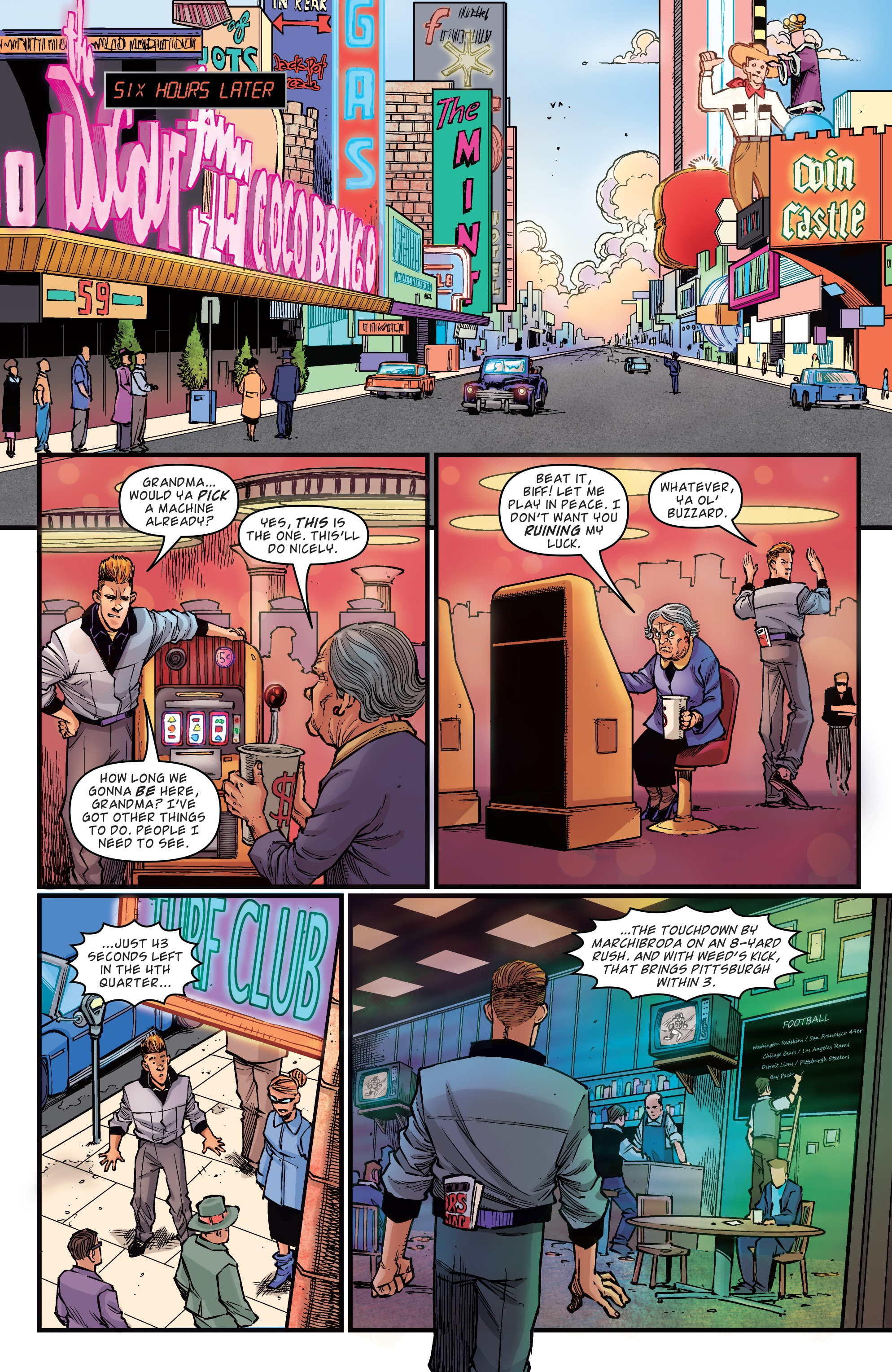 Read online Back to the Future: Biff to the Future comic -  Issue #1 - 5