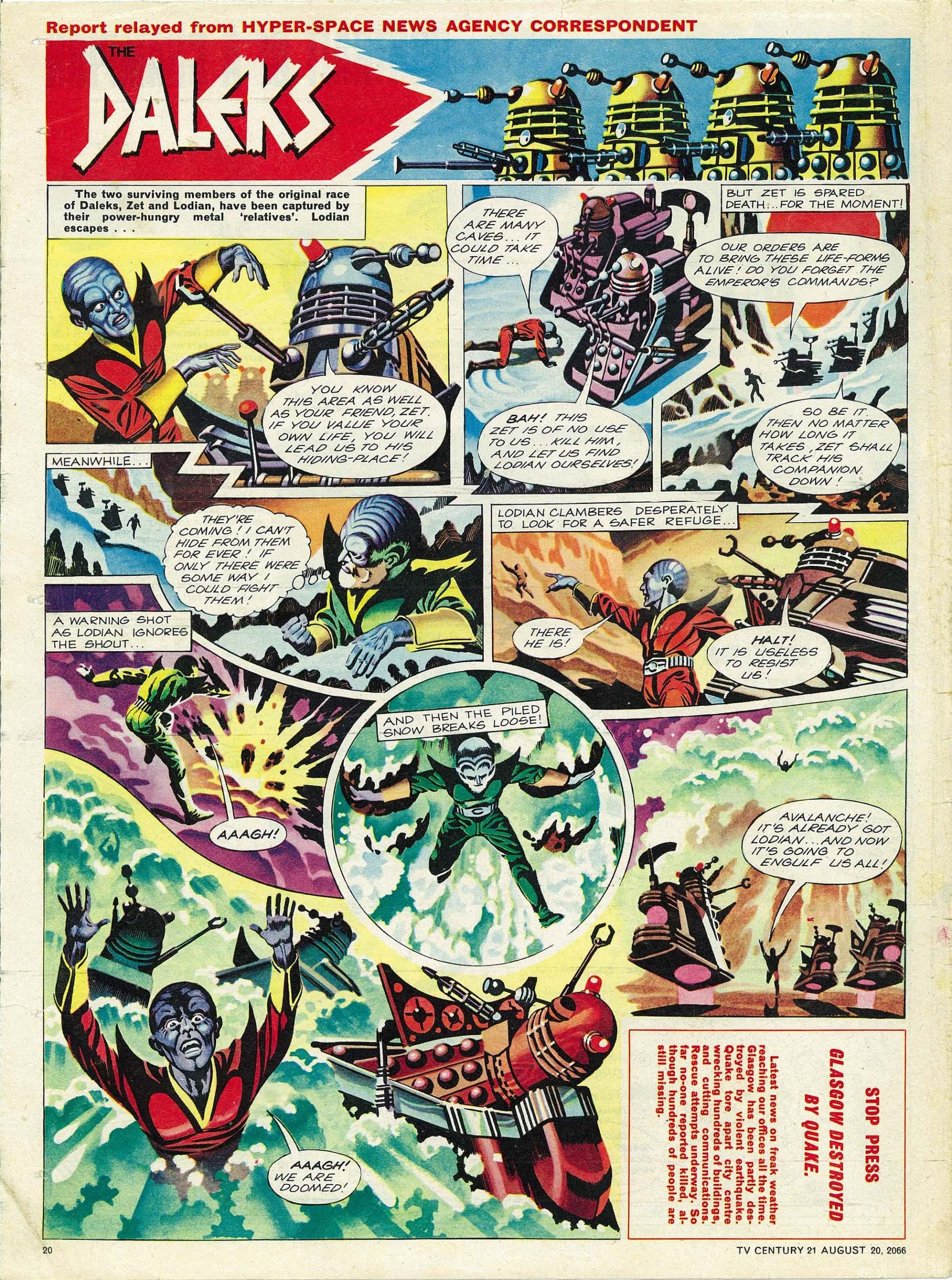 Read online TV Century 21 (TV 21) comic -  Issue #83 - 19