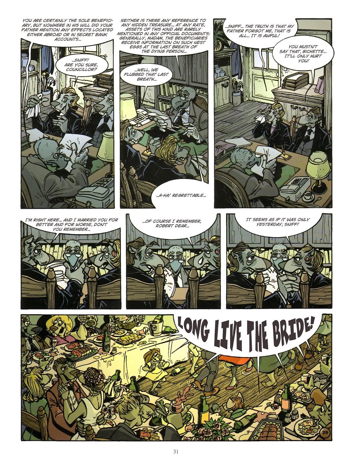 Une enquête de l'inspecteur Canardo issue 11 - Page 32
