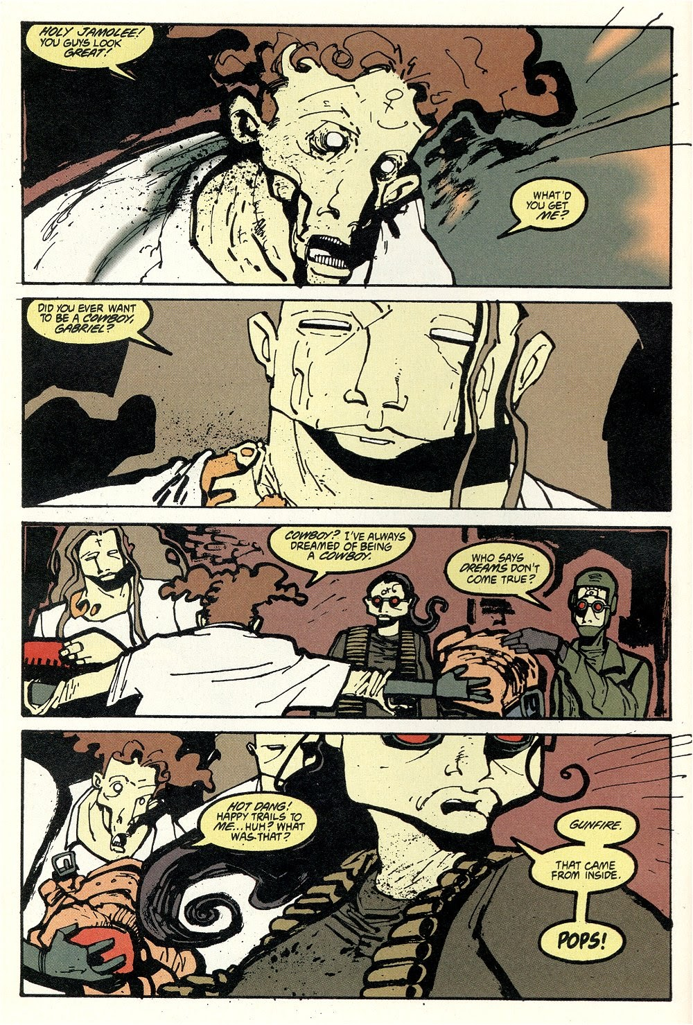 Read online Ted McKeever's Metropol comic -  Issue #11 - 14