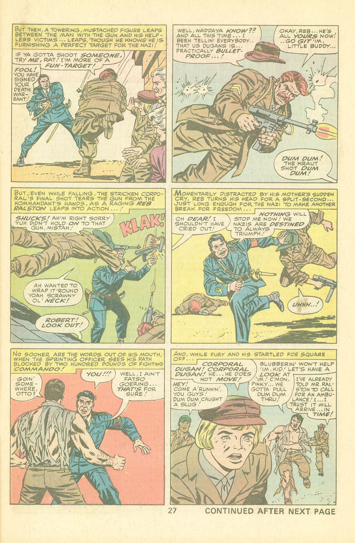 Read online Sgt. Fury comic -  Issue #126 - 29