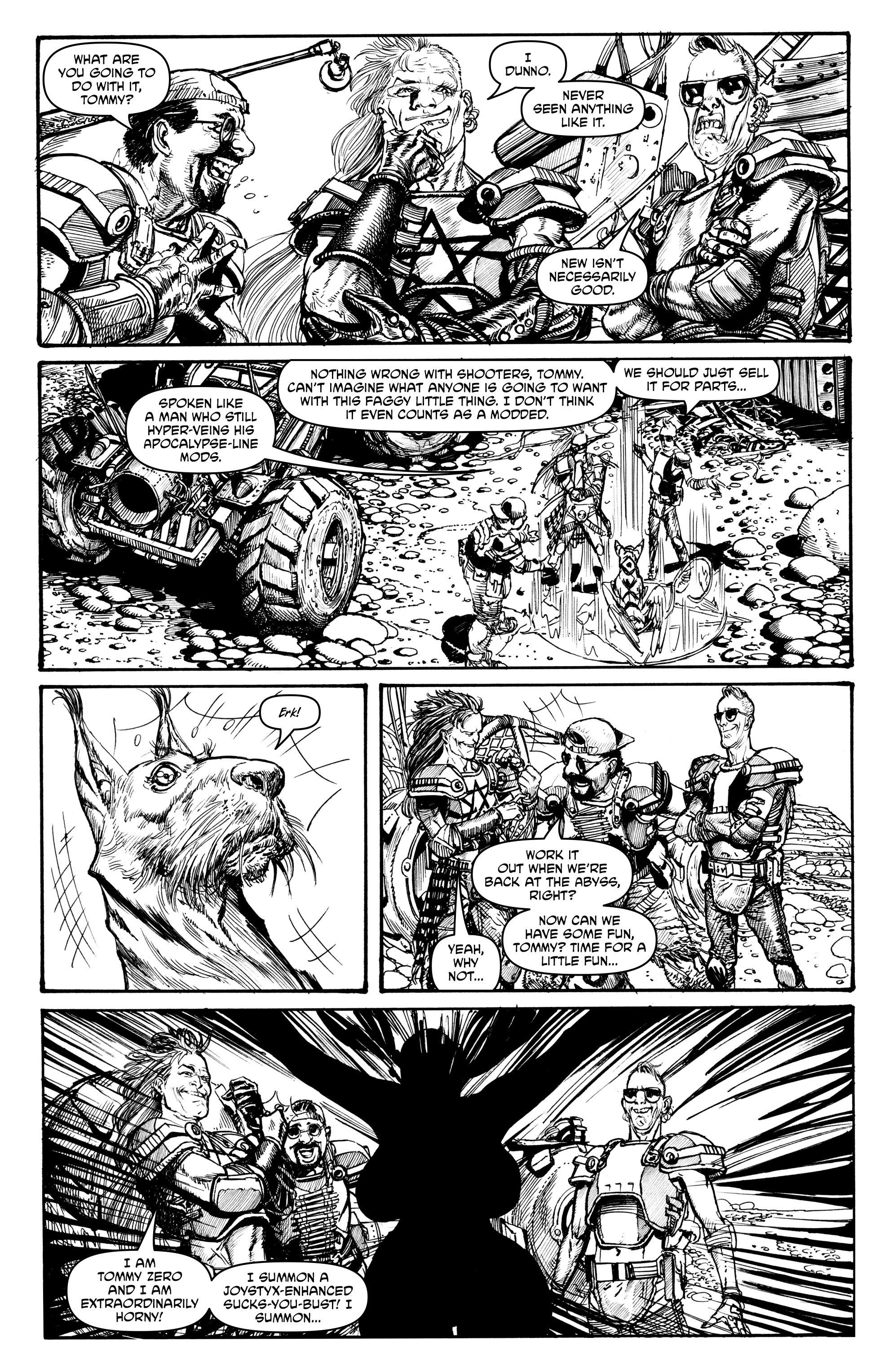 Read online Alan Moore's Cinema Purgatorio comic -  Issue #2 - 25