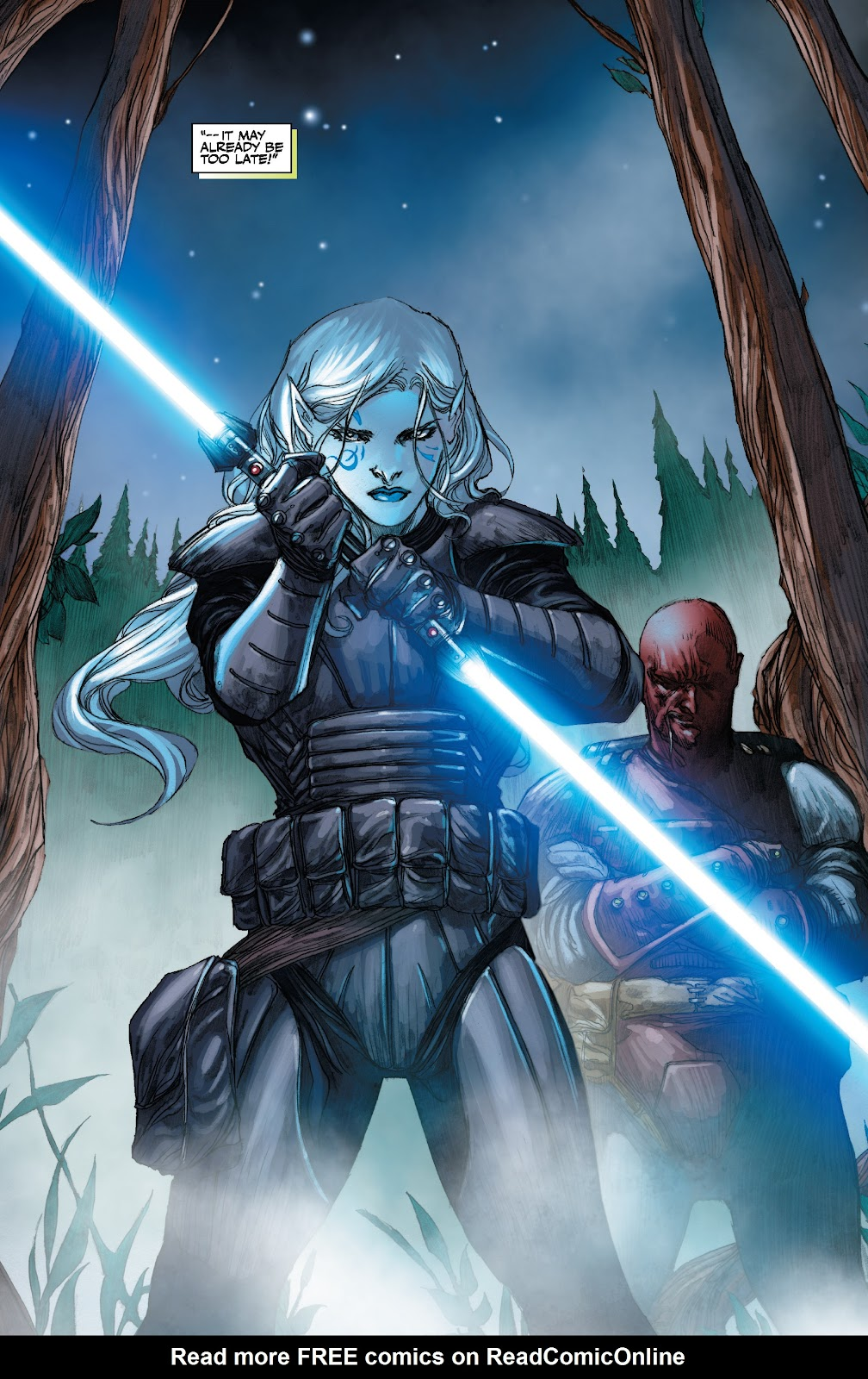 Read online Star Wars Legends: The Old Republic - Epic Collection comic -  Issue # TPB 3 (Part 3) - 56
