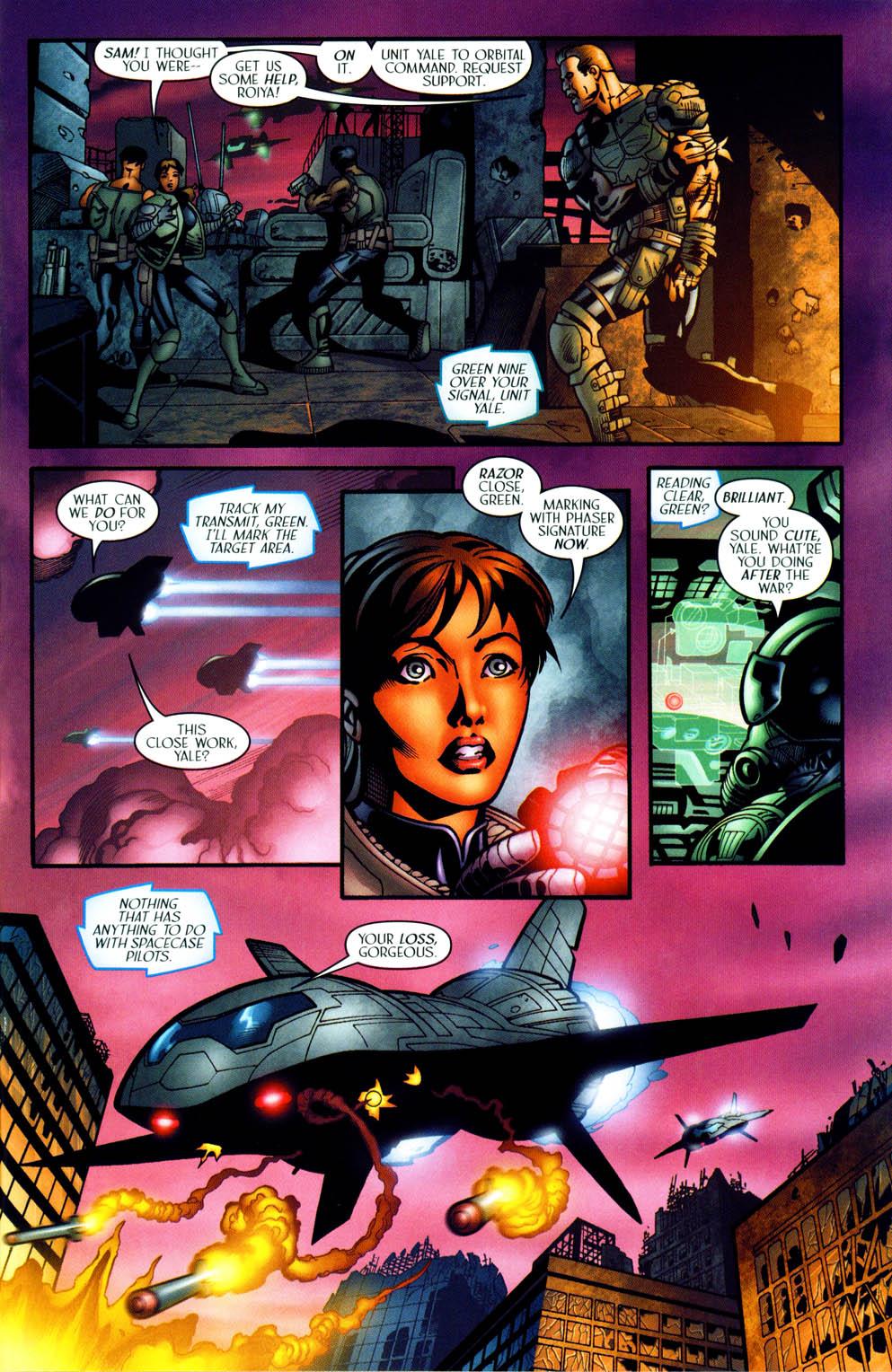 Read online Sigil (2000) comic -  Issue #35 - 18