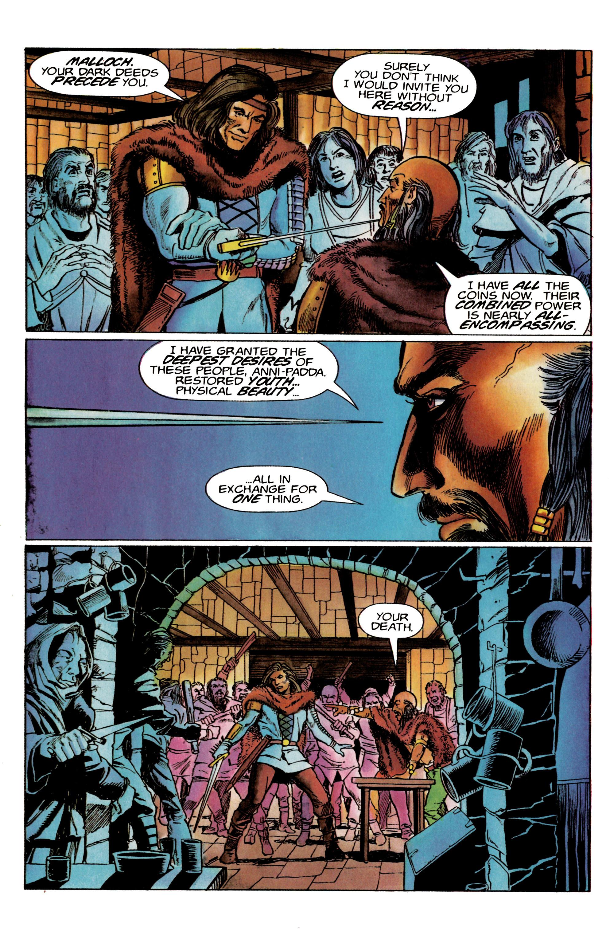 Read online Eternal Warrior (1992) comic -  Issue #19 - 5