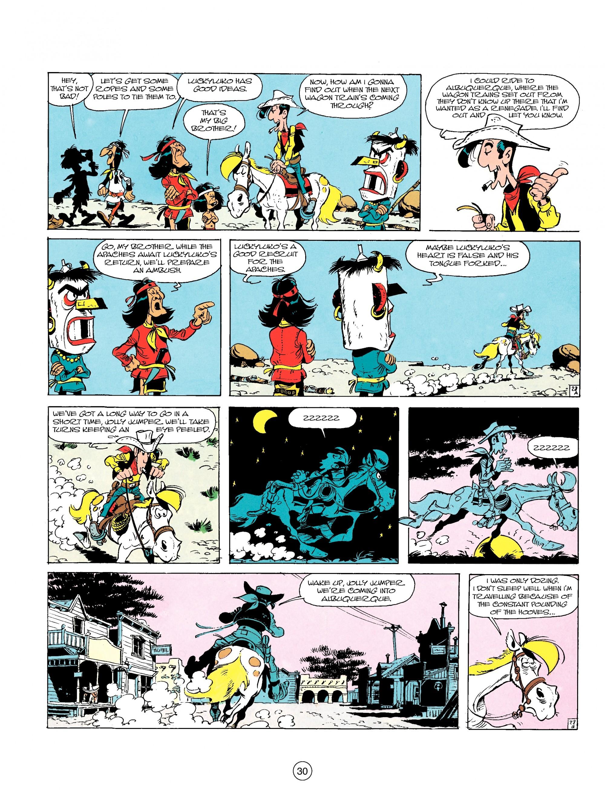 Read online A Lucky Luke Adventure comic -  Issue #17 - 30