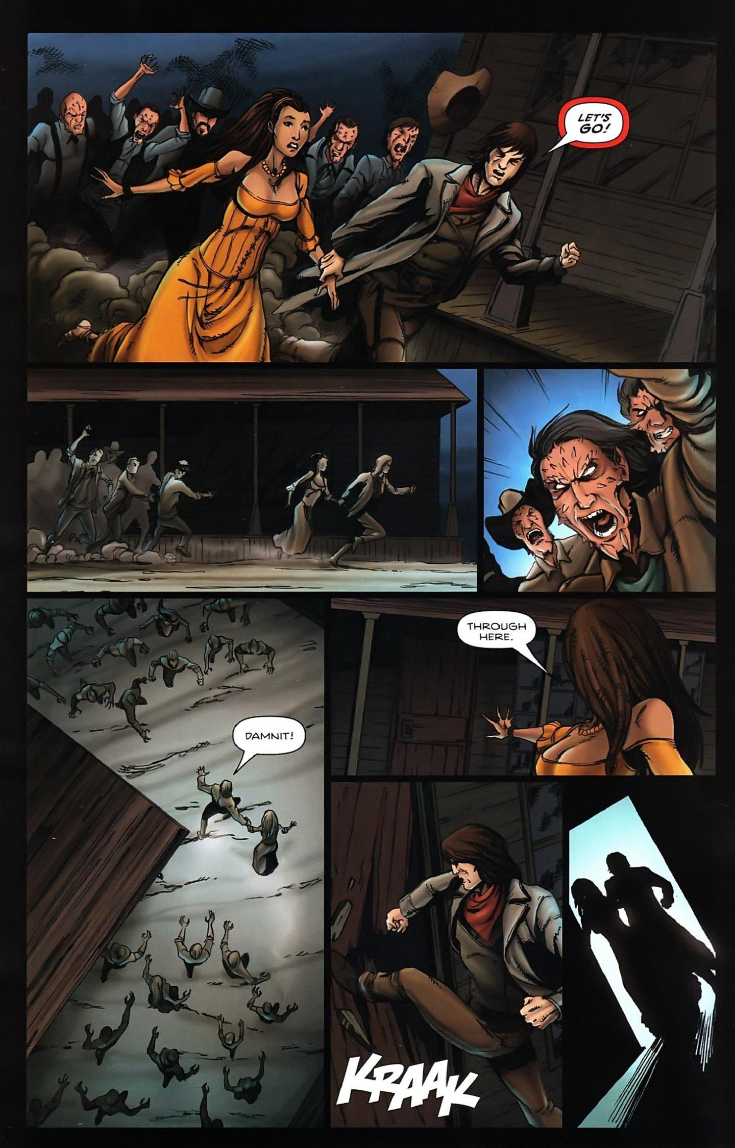 Read online Salem's Daughter: The Haunting comic -  Issue #5 - 6