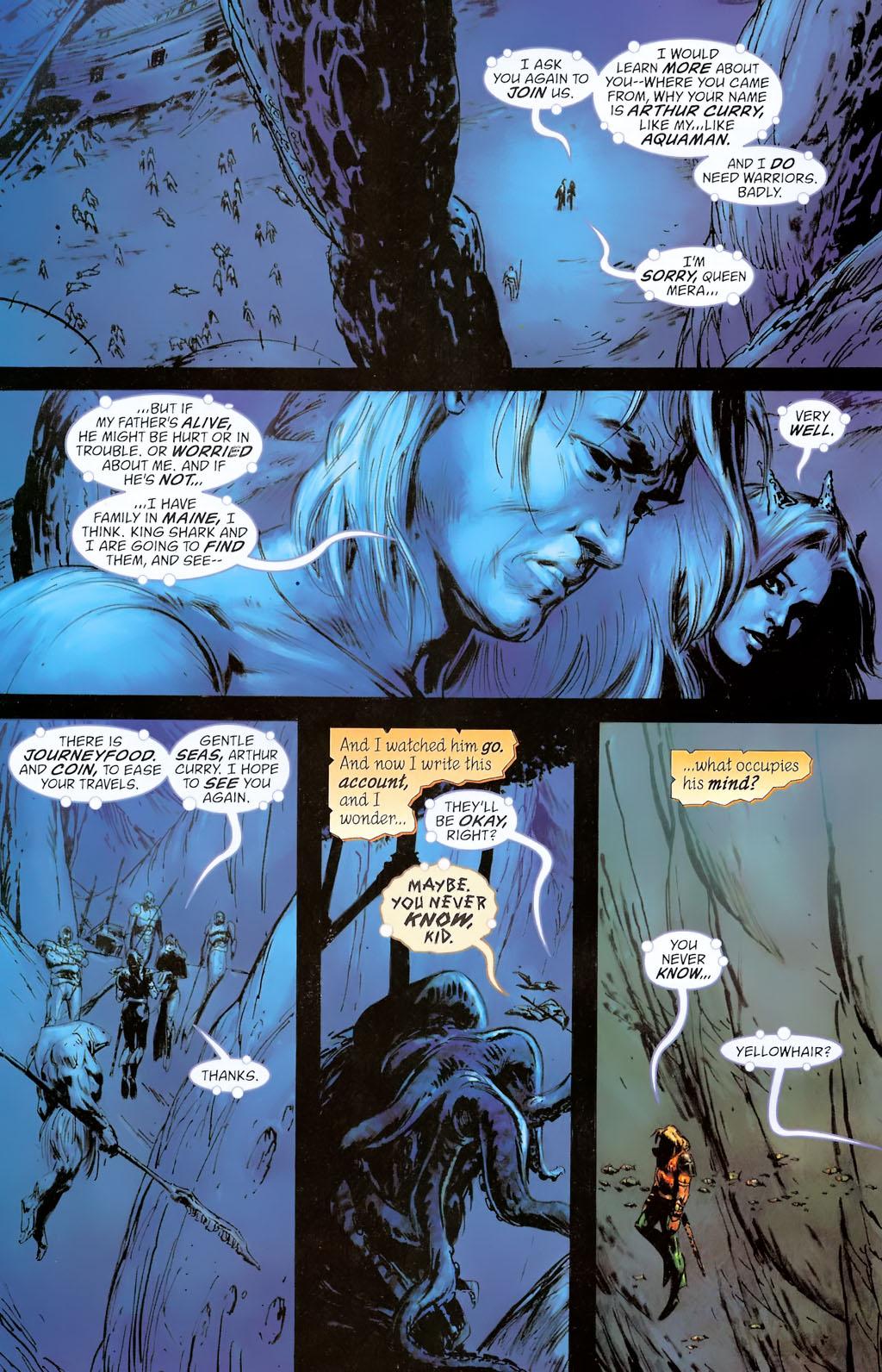 Read online Aquaman: Sword of Atlantis comic -  Issue #42 - 6