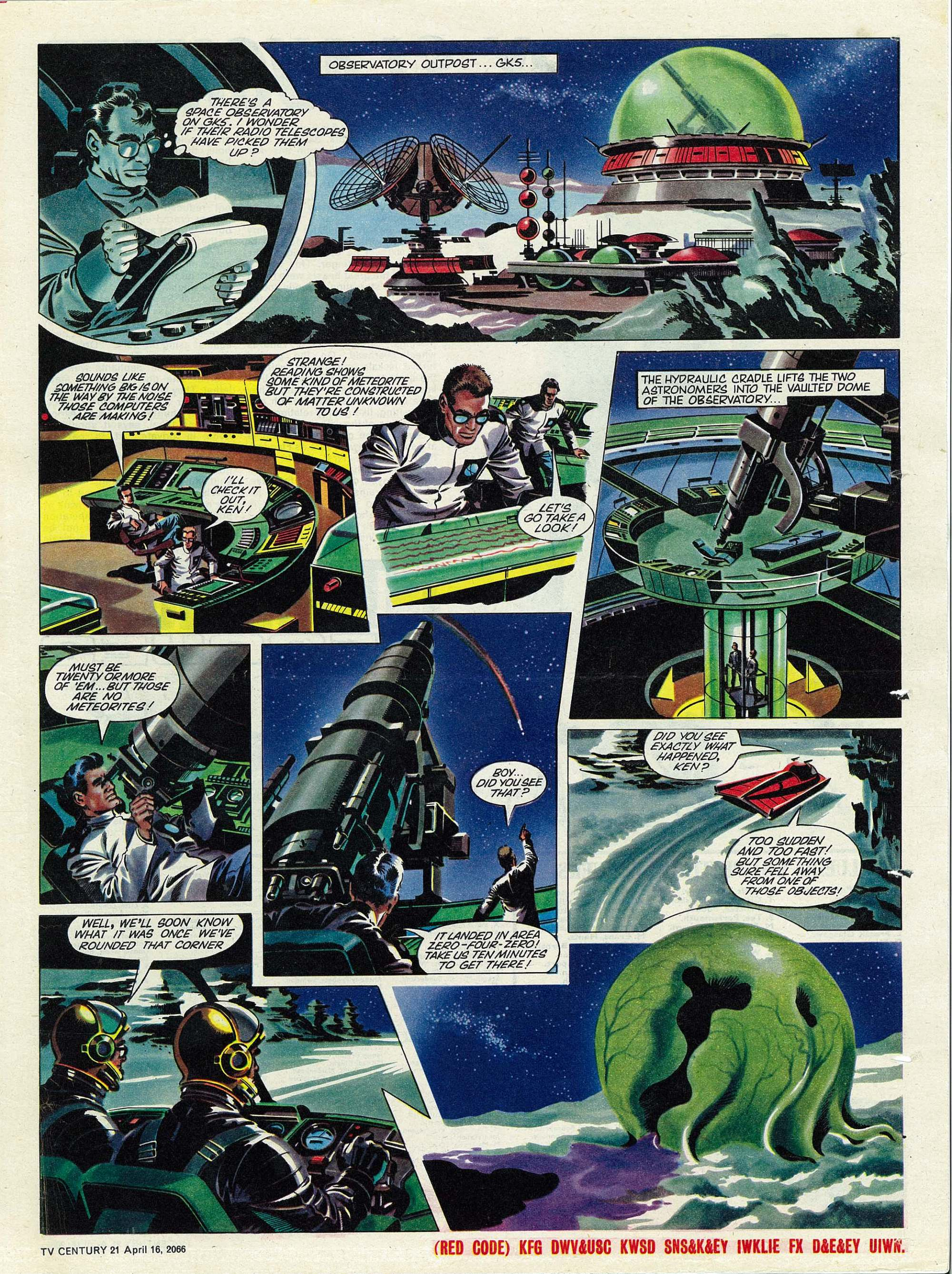 Read online TV Century 21 (TV 21) comic -  Issue #65 - 16