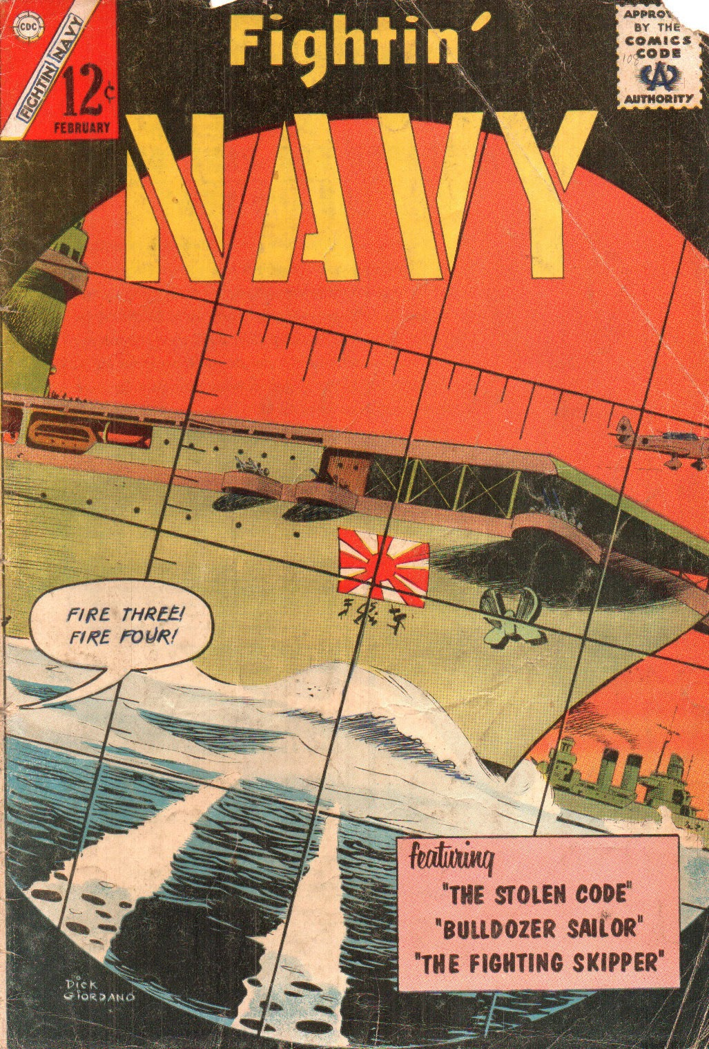 Read online Fightin' Navy comic -  Issue #108 - 1