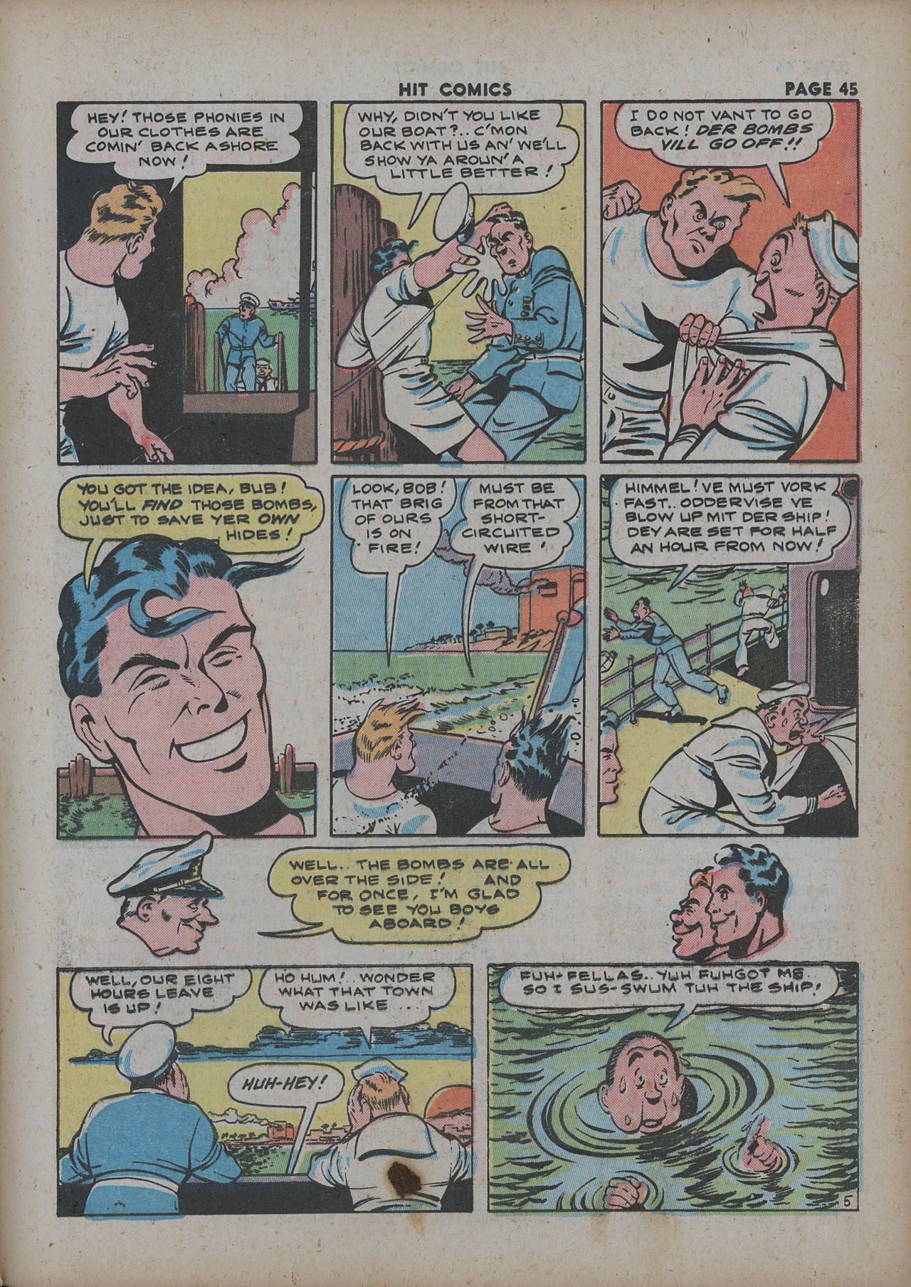 Read online Hit Comics comic -  Issue #27 - 47