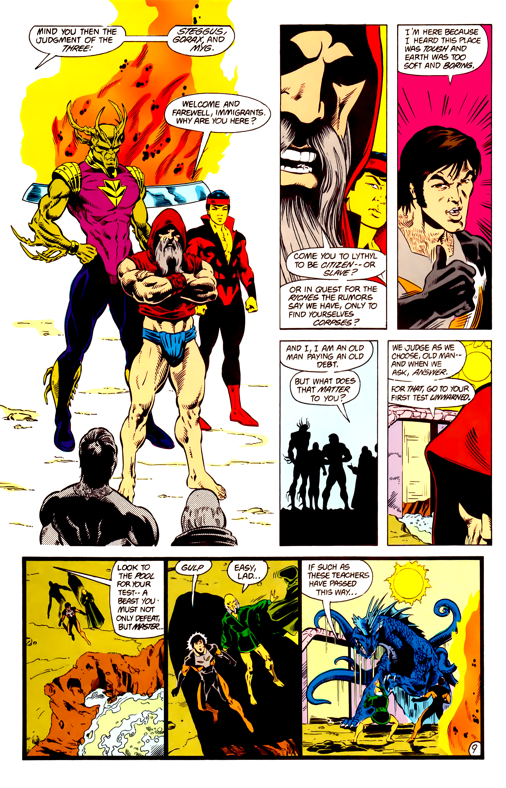 Legion of Super-Heroes (1984) 13 Page 10
