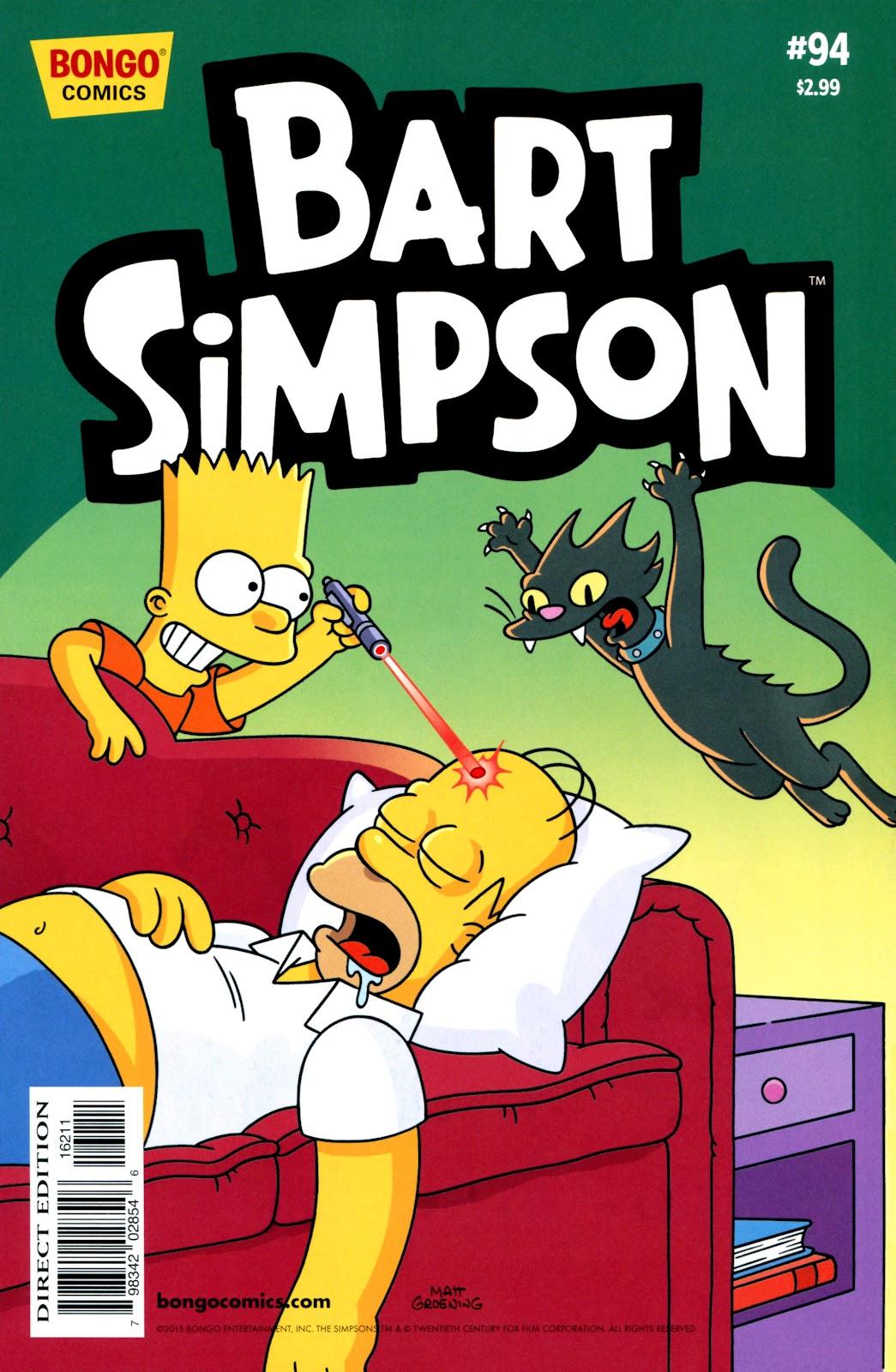 Simpsons Comics Presents Bart Simpson 94 Page 1