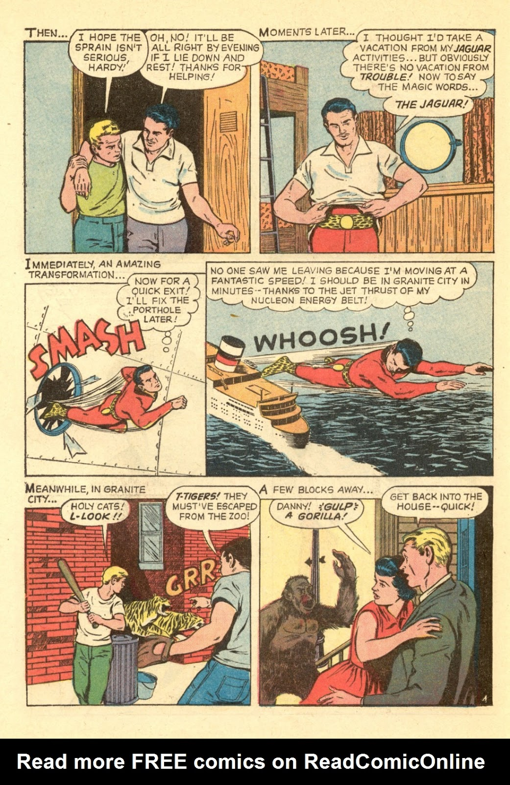 Adventures of the Jaguar issue 4 - Page 16